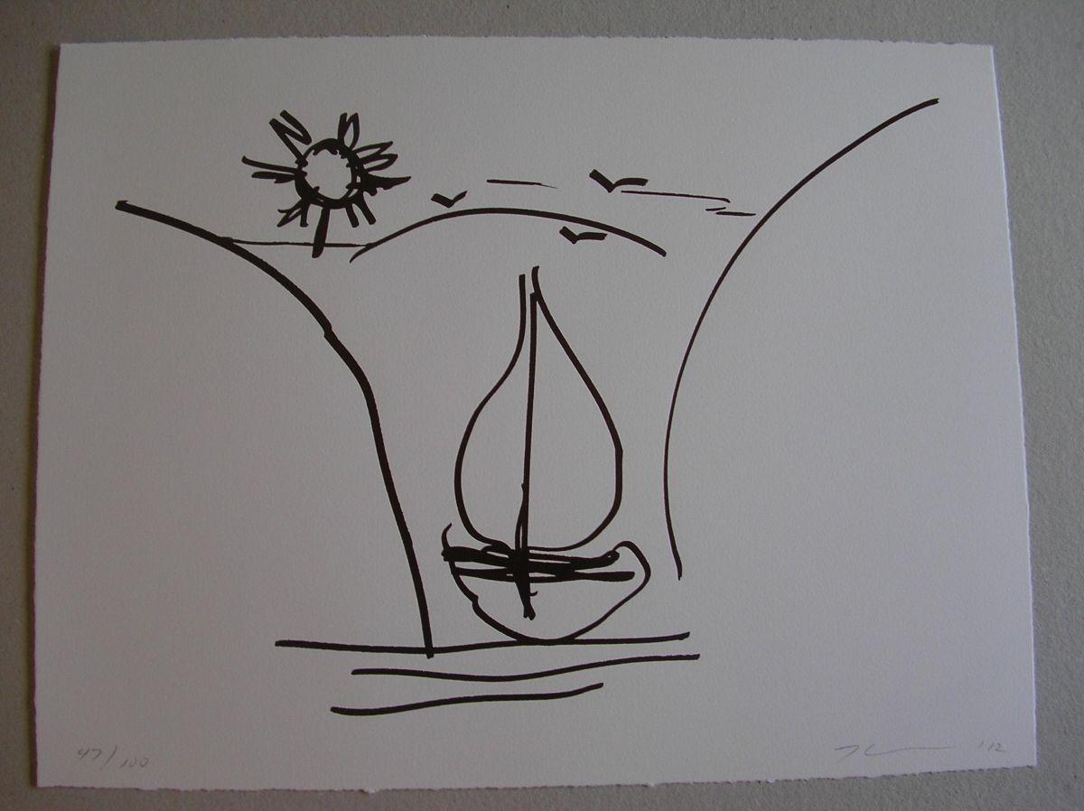 Jeff Koons - Antiquity drawing - handsigniert, nur 100 Exemplare, vergriffen kopen? Bied vanaf 1400!
