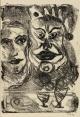 Thilo Maatsch - Ausdrucksstarke, expressive meisterhaft ausgeführte Lithografie, 1952. Handsigniert. kopen? Bied vanaf 135!