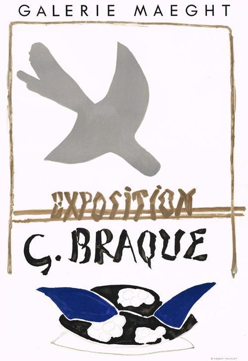 Georges Braque - Exposition G. Braque - Galerie Maeght, 1959 kopen? Bied vanaf 320!