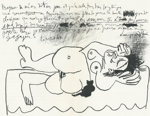 Pablo Picasso - Hommage à Georges Braque, Lithographie, 1964 kopen? Bied vanaf 110!
