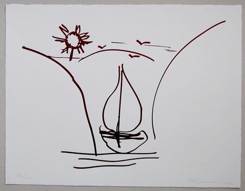 Jeff Koons - Lithographie mit Siebdruck - 2012 - sign./num. - Aufl. 100 kopen? Bied vanaf 1550!