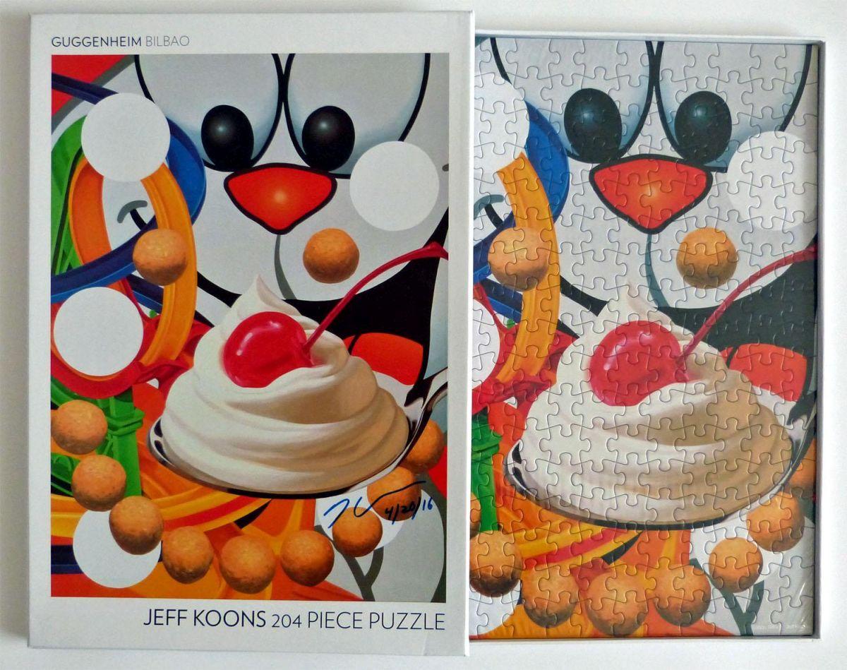 Jeff Koons - Loopy - Puzzle Multiple - SIGNIERT kopen? Bied vanaf 500!