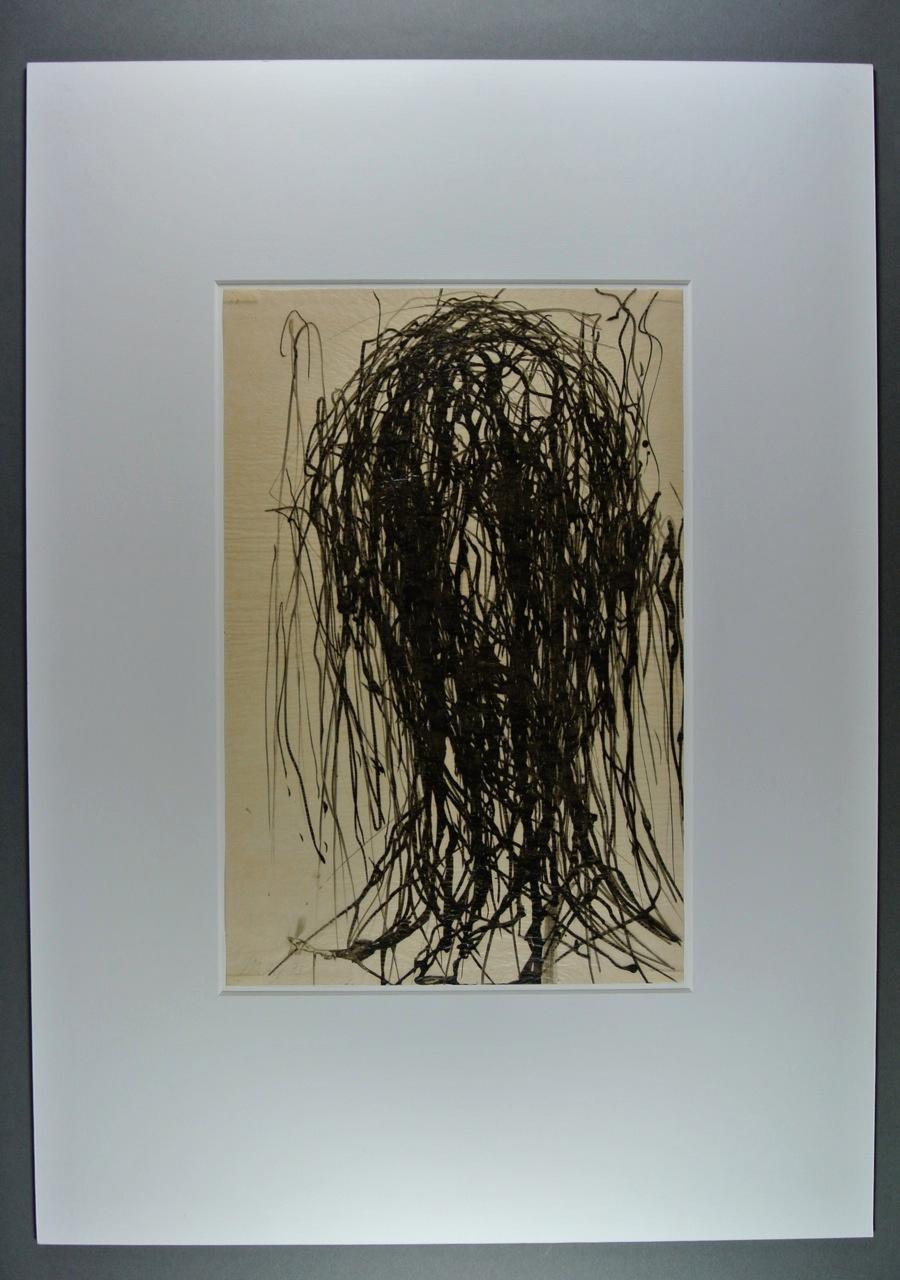Max Uhlig - 'ohne Titel', Tusche auf Transparentpapier, signiert, kopen? Bied vanaf 570!