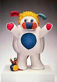 Jeff Koons - Poppels. Altes Ausstellungsplakat. kopen? Bied vanaf 65!