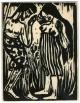 Emil Nolde - TÄNDELEI - 1917 - Späterer Druck im OriginalFormat des ENTARTETEN BRÜCKE EXPRESSIONISTEN aus NOLDE kopen? Bied vanaf 95!