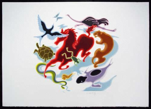 Victor Vasarely - Vasarely: Animals. Farblithografie, handsigniert, limitiert. kopen? Bied vanaf 330!