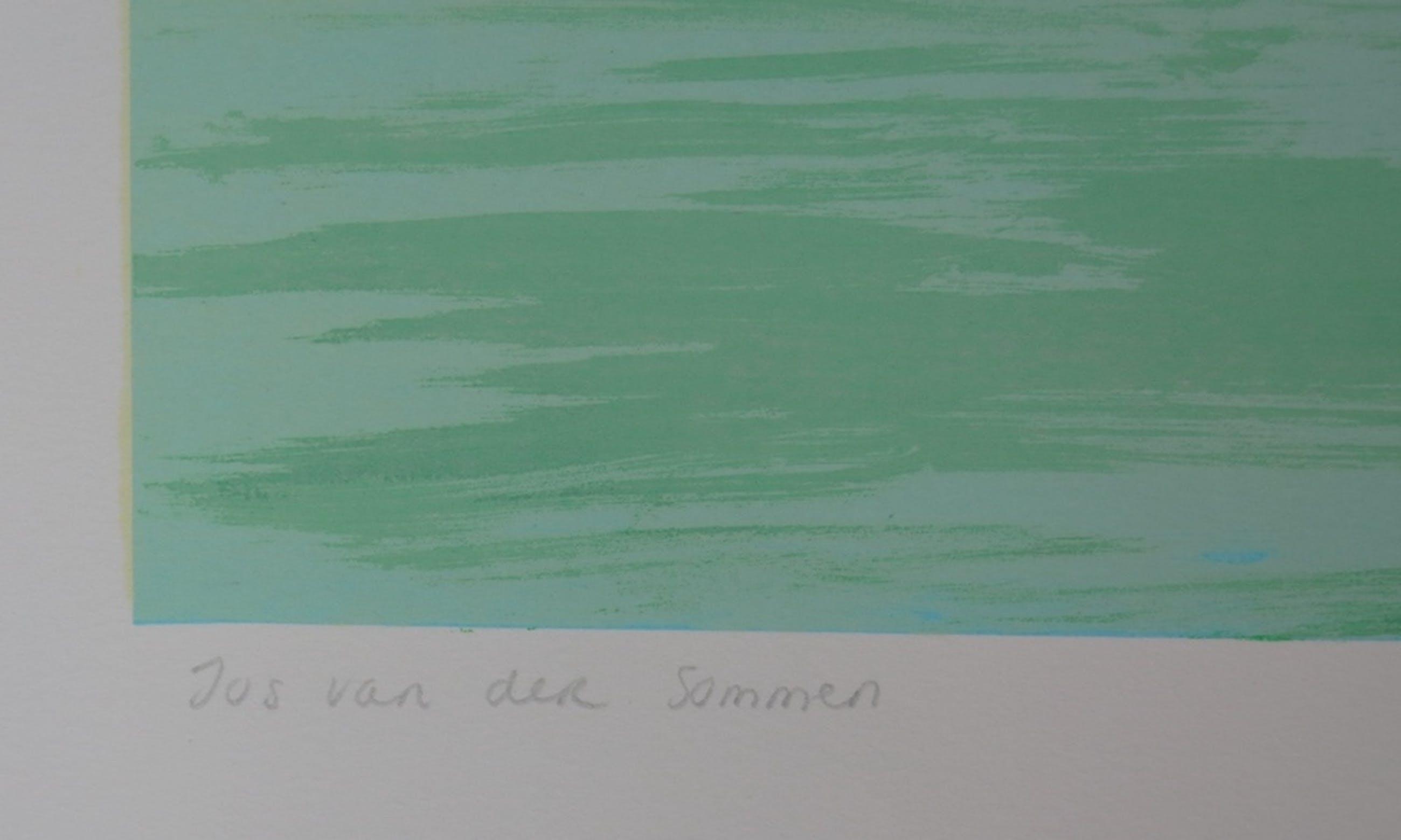 Jos van der Sommen: Zeefdruk, It's empty without you kopen? Bied vanaf 20!
