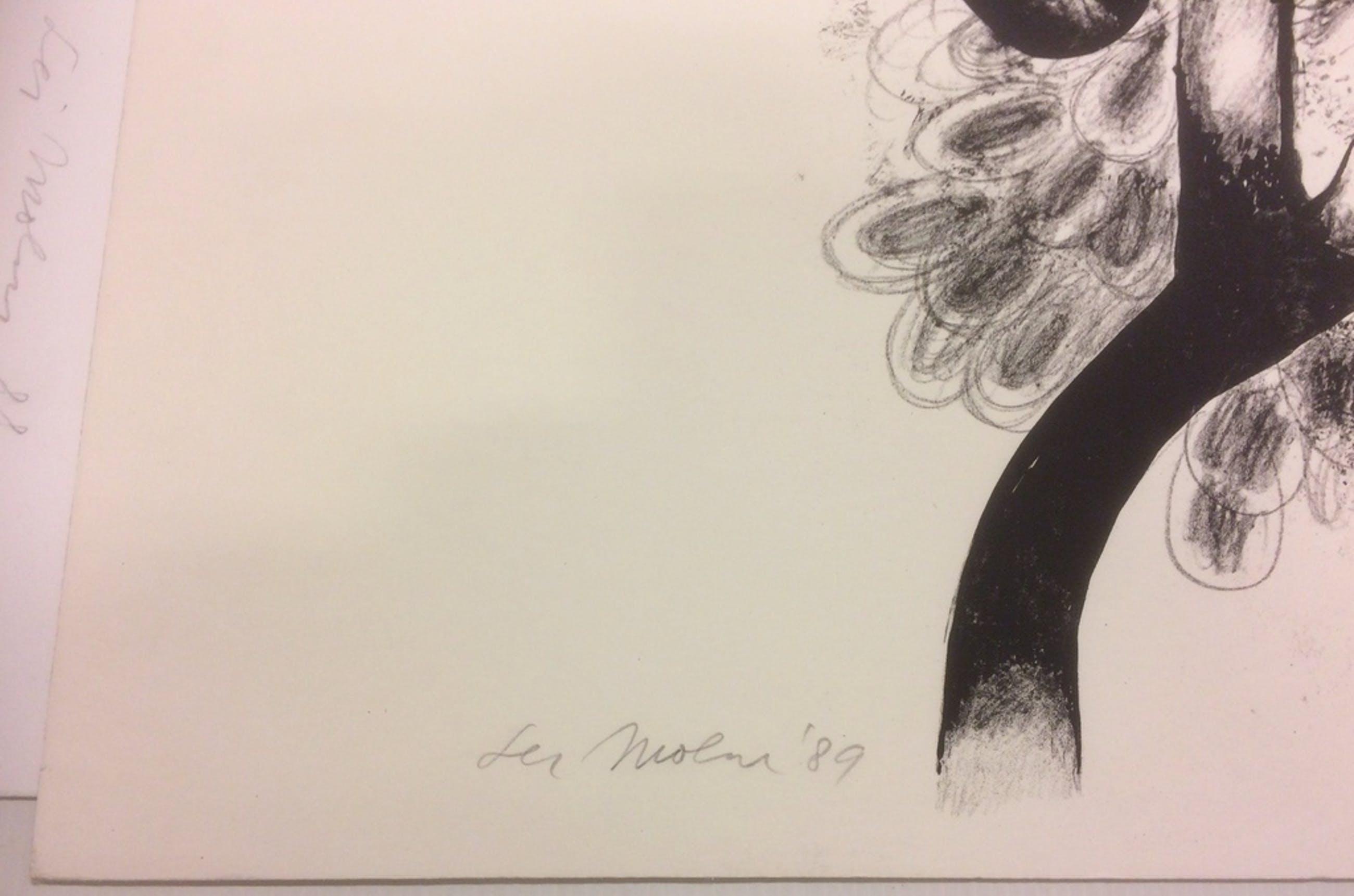 Lei Molin zeer grote kleuren litho - 1989 - oplage 40 ex. kopen? Bied vanaf 150!