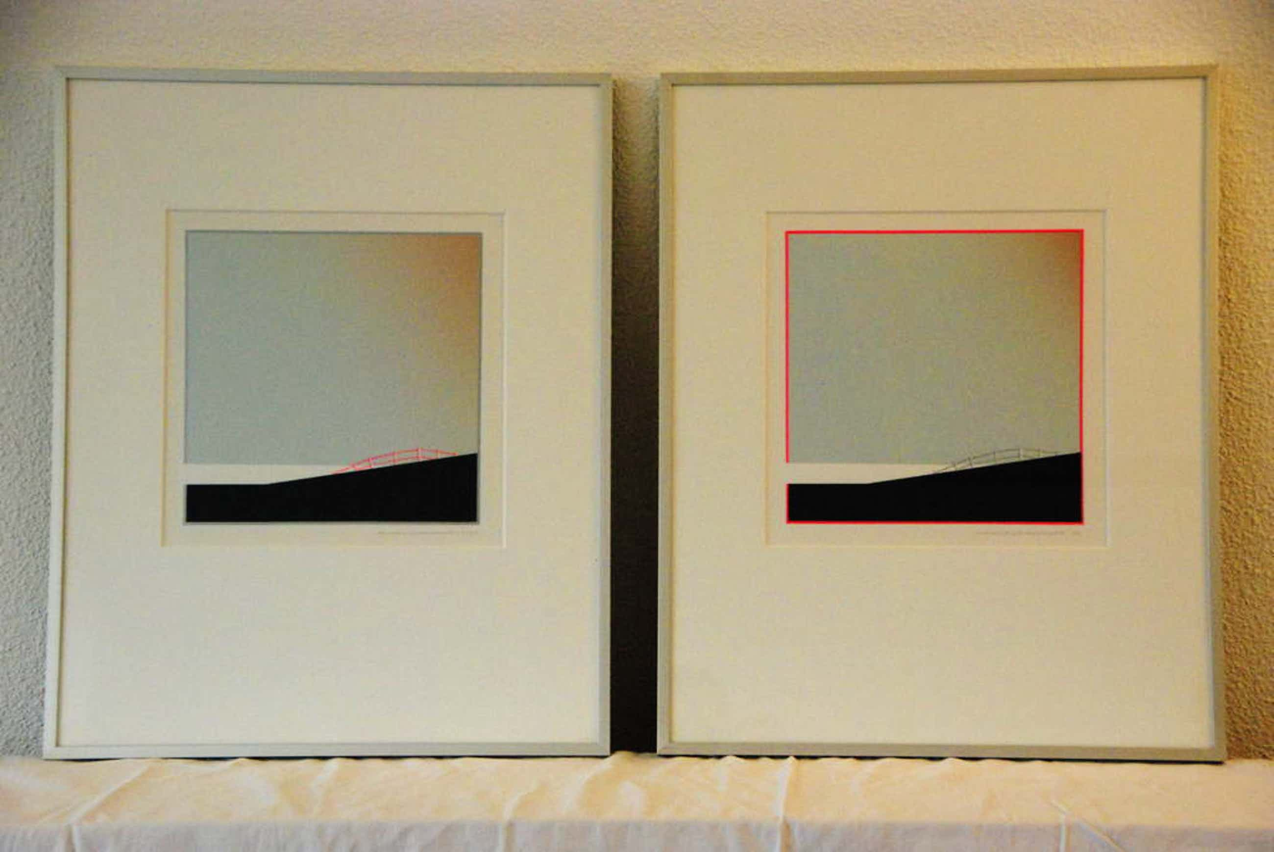 Hekje op Dijk 1 en 2, Heleen van der Tuin, 41x51 cm, 1987 kopen? Bied vanaf 70!