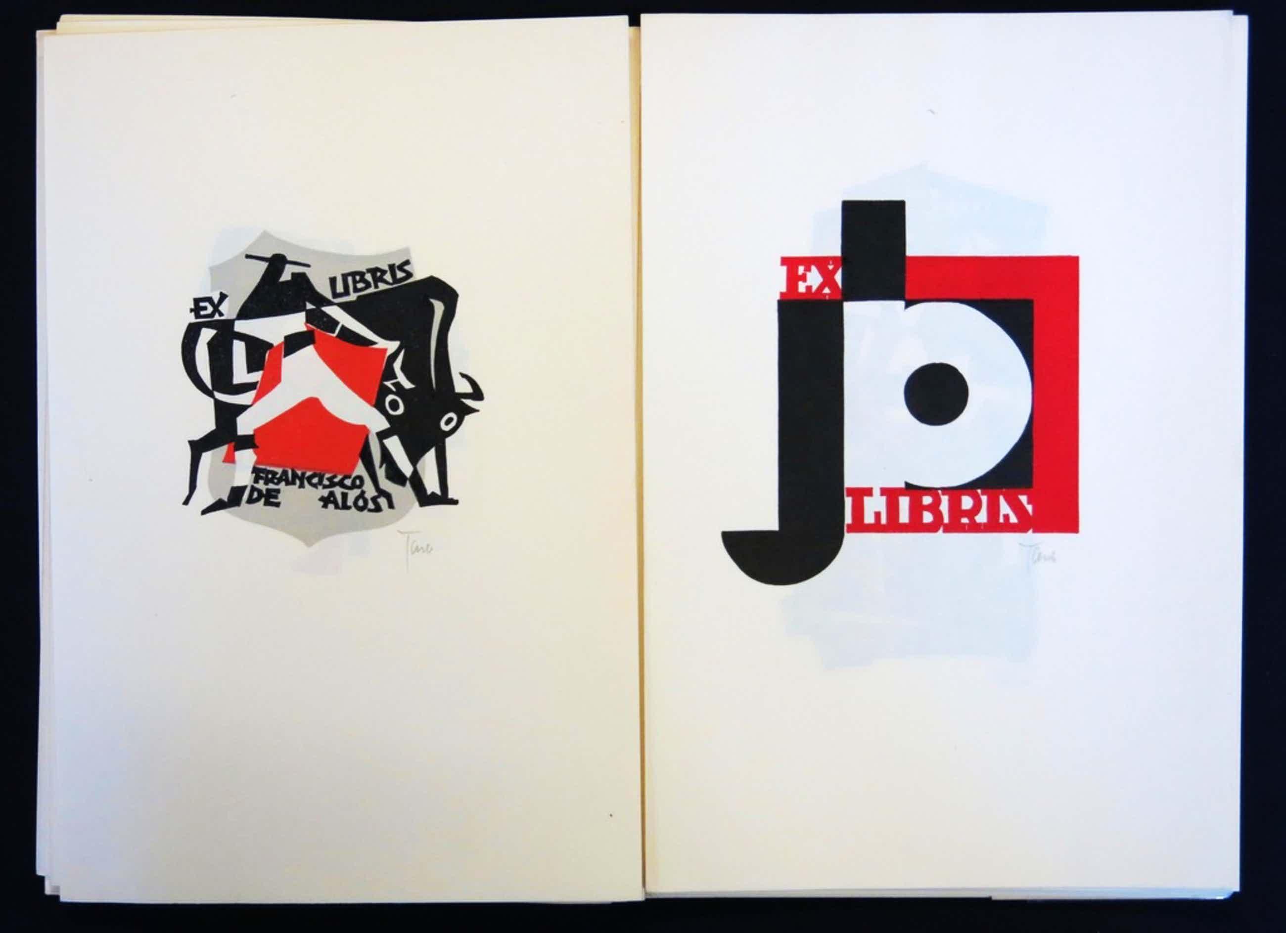 Kleingrafiek: Jan Battermann, Map met 19 Hout- en linosnedes Grafisch Werk kopen? Bied vanaf 35!