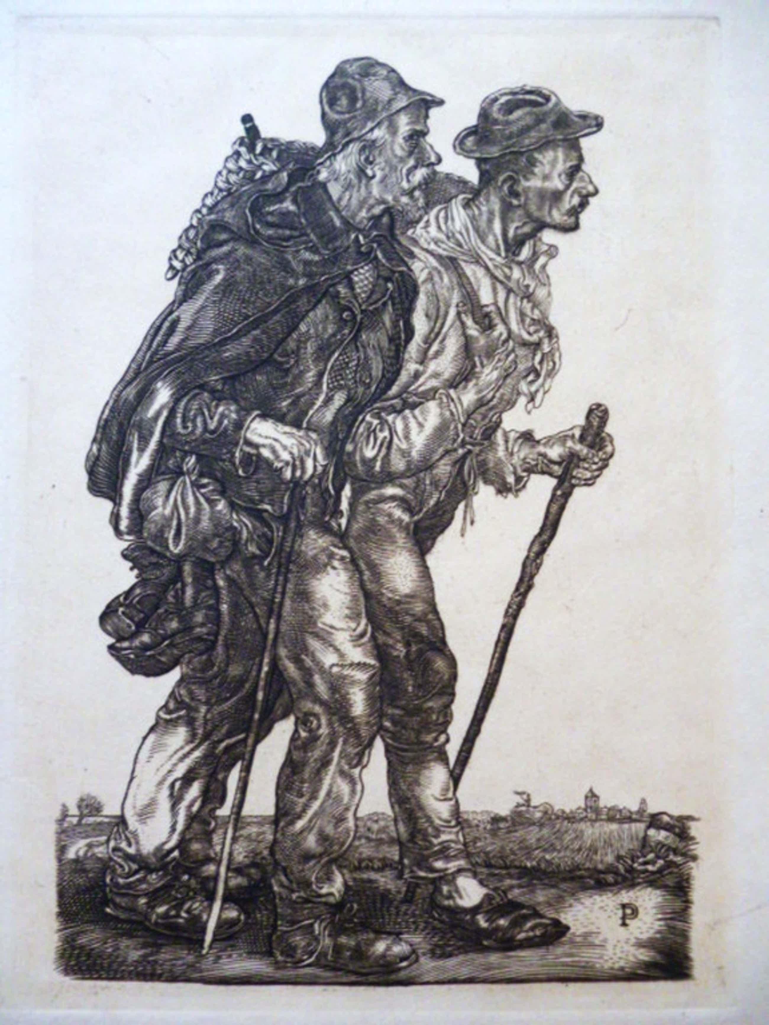 Pieter Dupont - gravure - Bedelaars kopen? Bied vanaf 45!