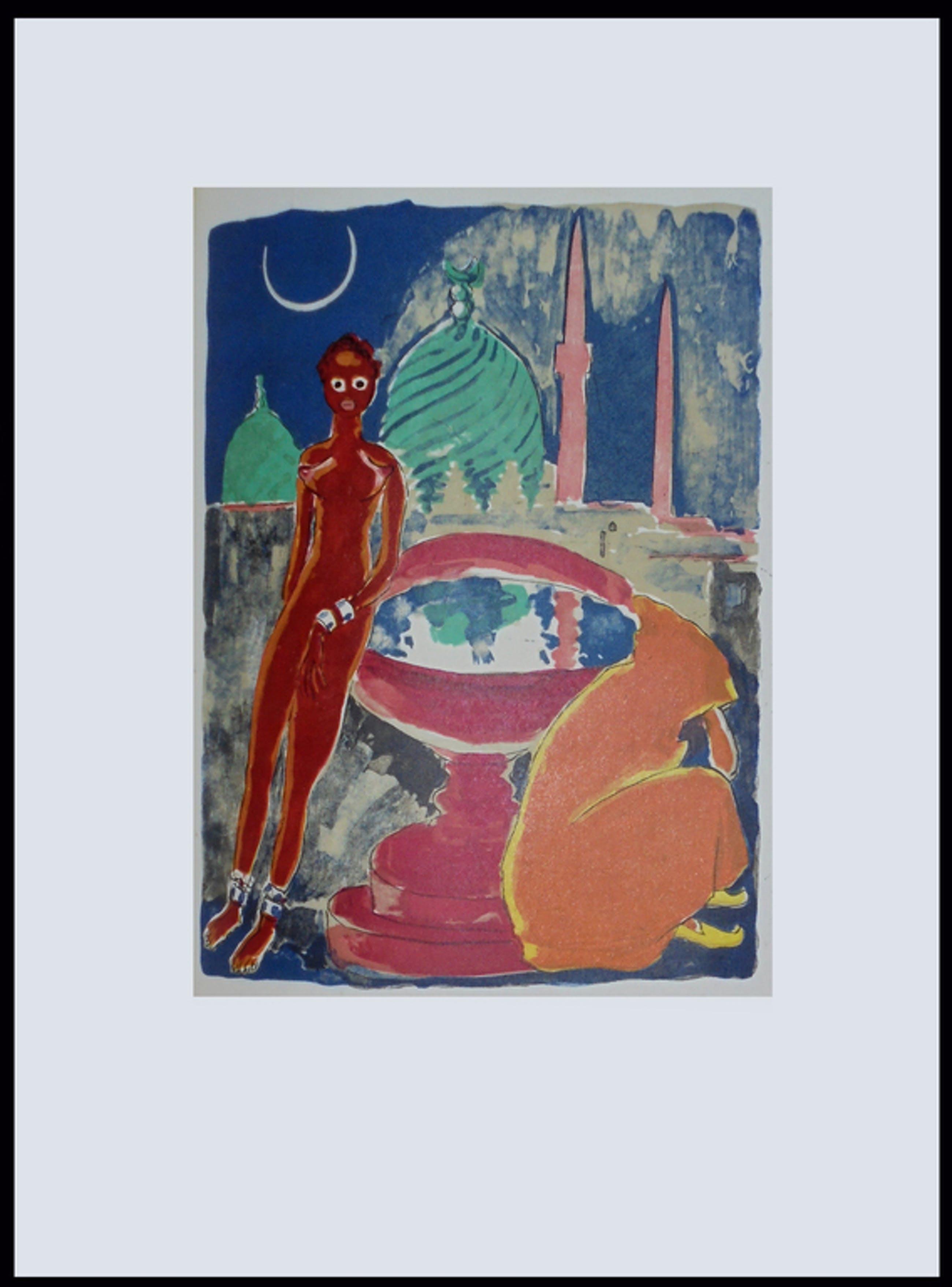 Kees van Dongen - Houtgravure 1955 - Baghdad au clair de lune kopen? Bied vanaf 25!