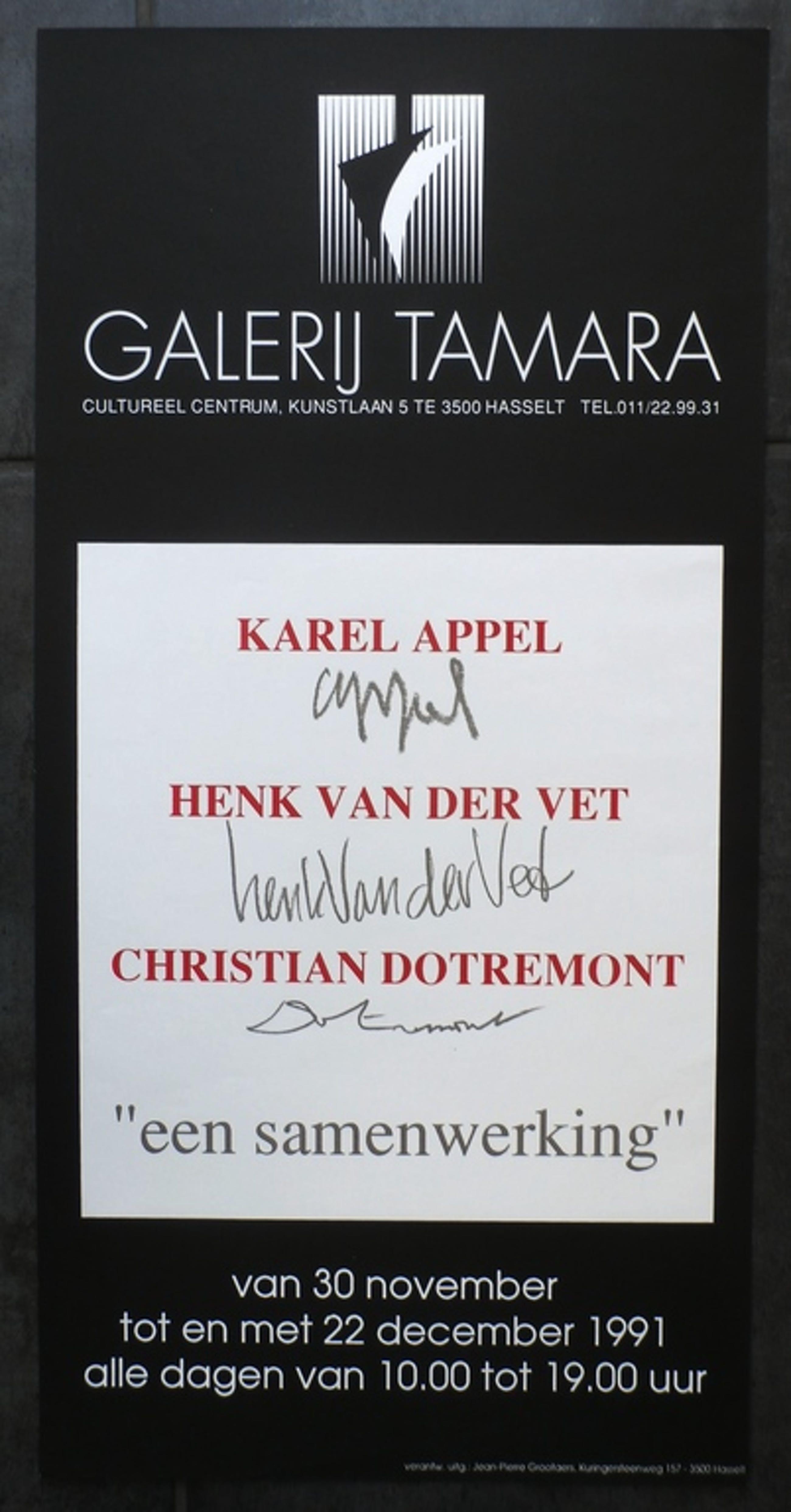 Karel Appel @ Christian Dotremont- tentoonstellingsaffiche - 1991 kopen? Bied vanaf 20!