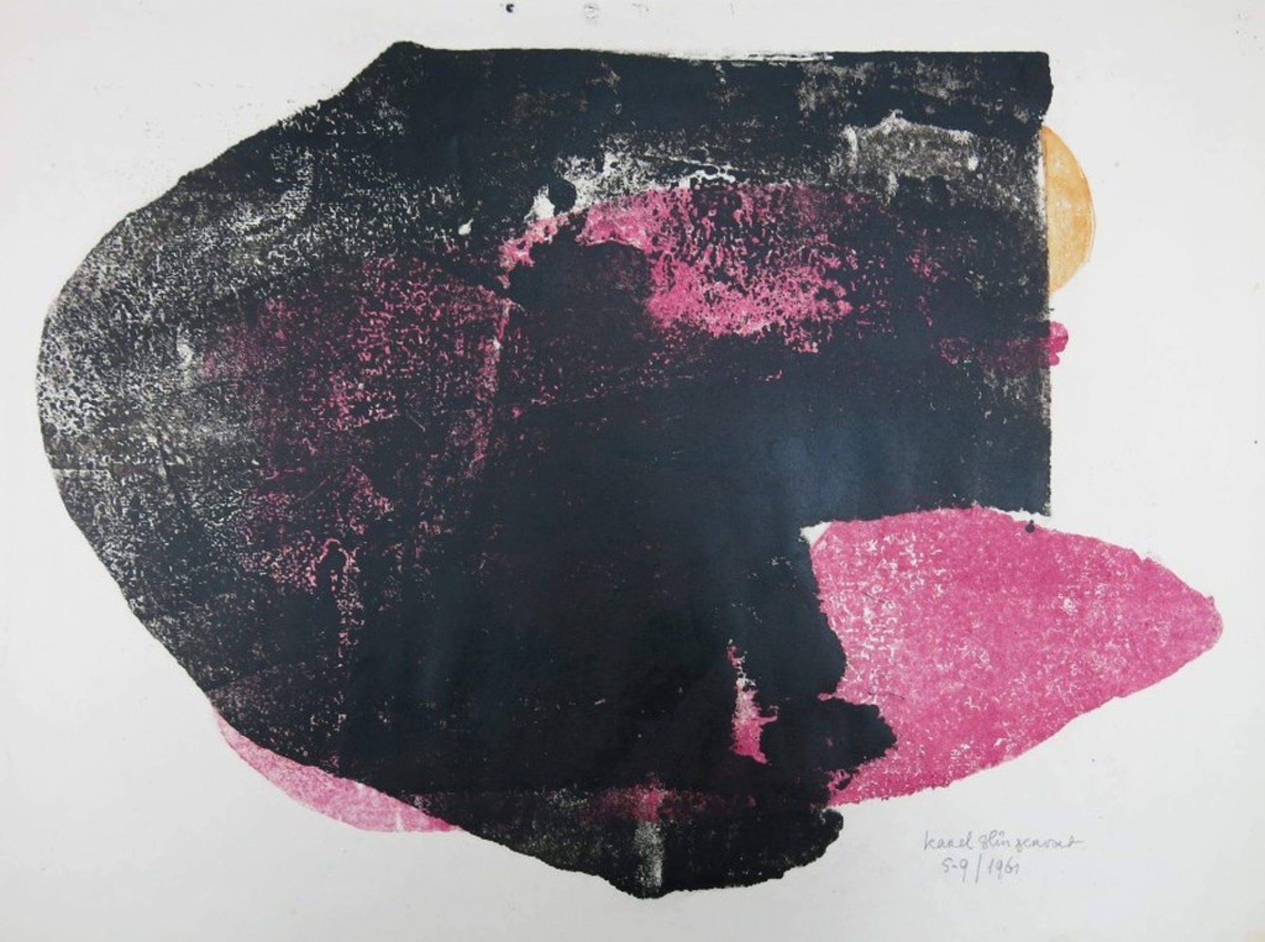Karel Slingervoet: Monotype, Zwart/Roze kopen? Bied vanaf 1!