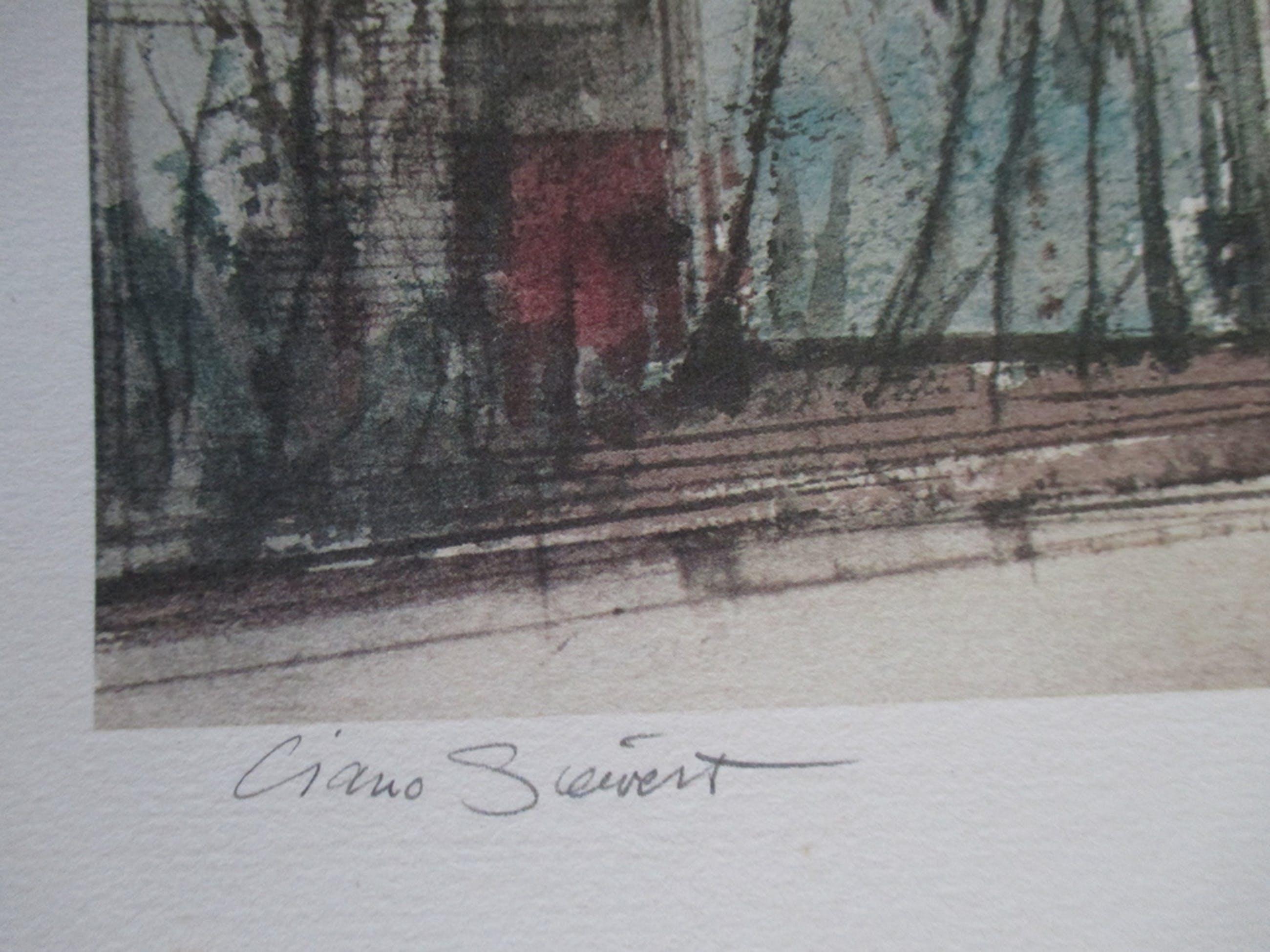 Ciano Siewert, kleurenlitho nr. 2/100 kopen? Bied vanaf 1!