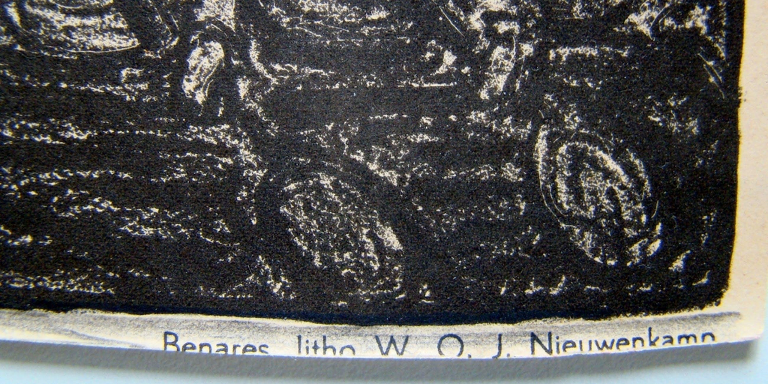 Wijnand Nieuwenkamp (1874-1950) - Litho Benares kopen? Bied vanaf 1!