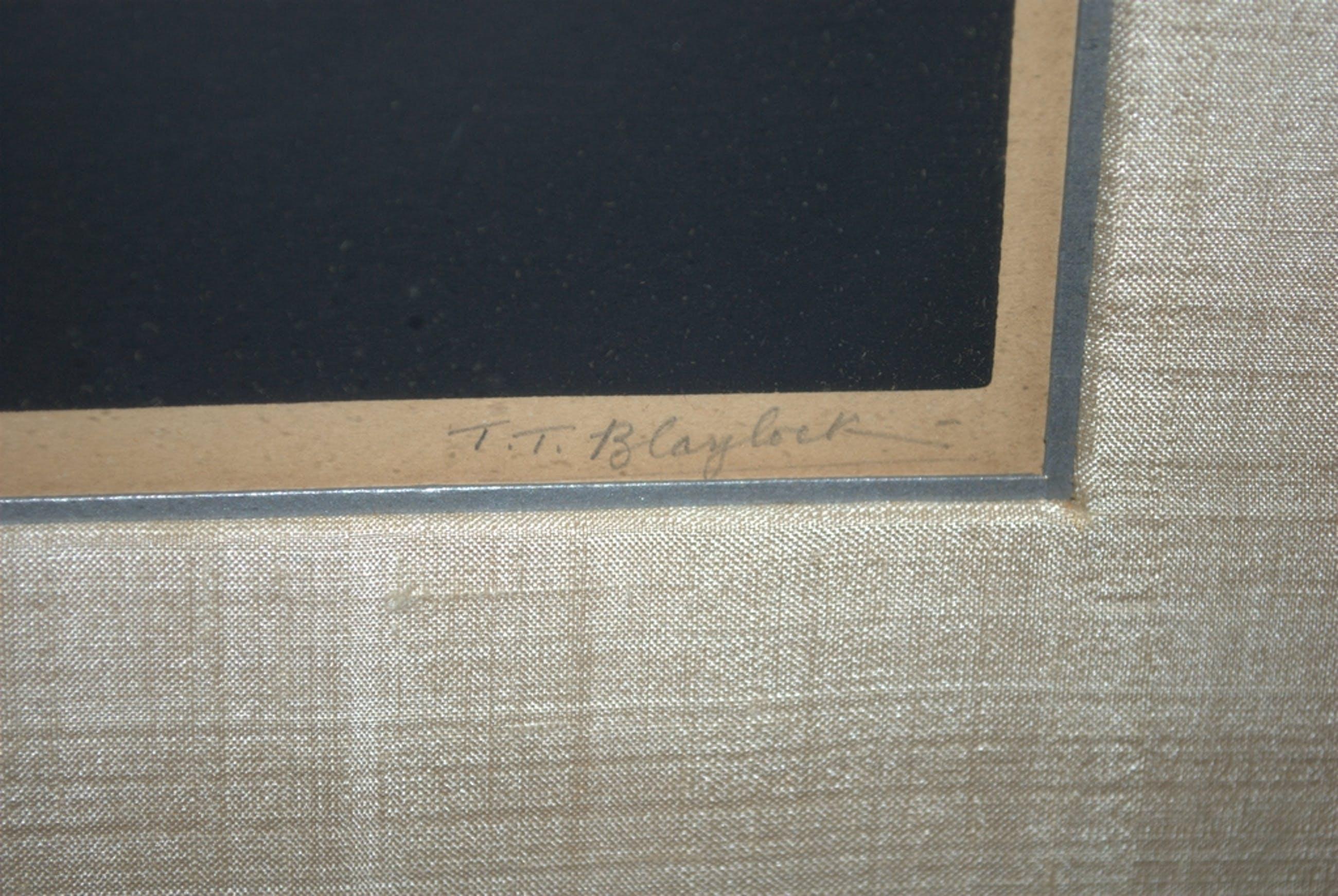T.T.Blaylock (Schotland) - Narcissen, houtsnede rond 1910 kopen? Bied vanaf 50!