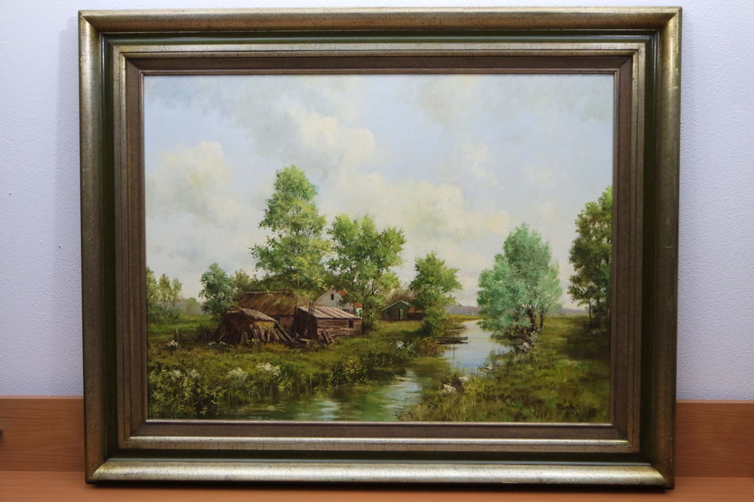 Peter Motz (1934-2003) - olieverf op doek - landschap kopen? Bied vanaf 325!