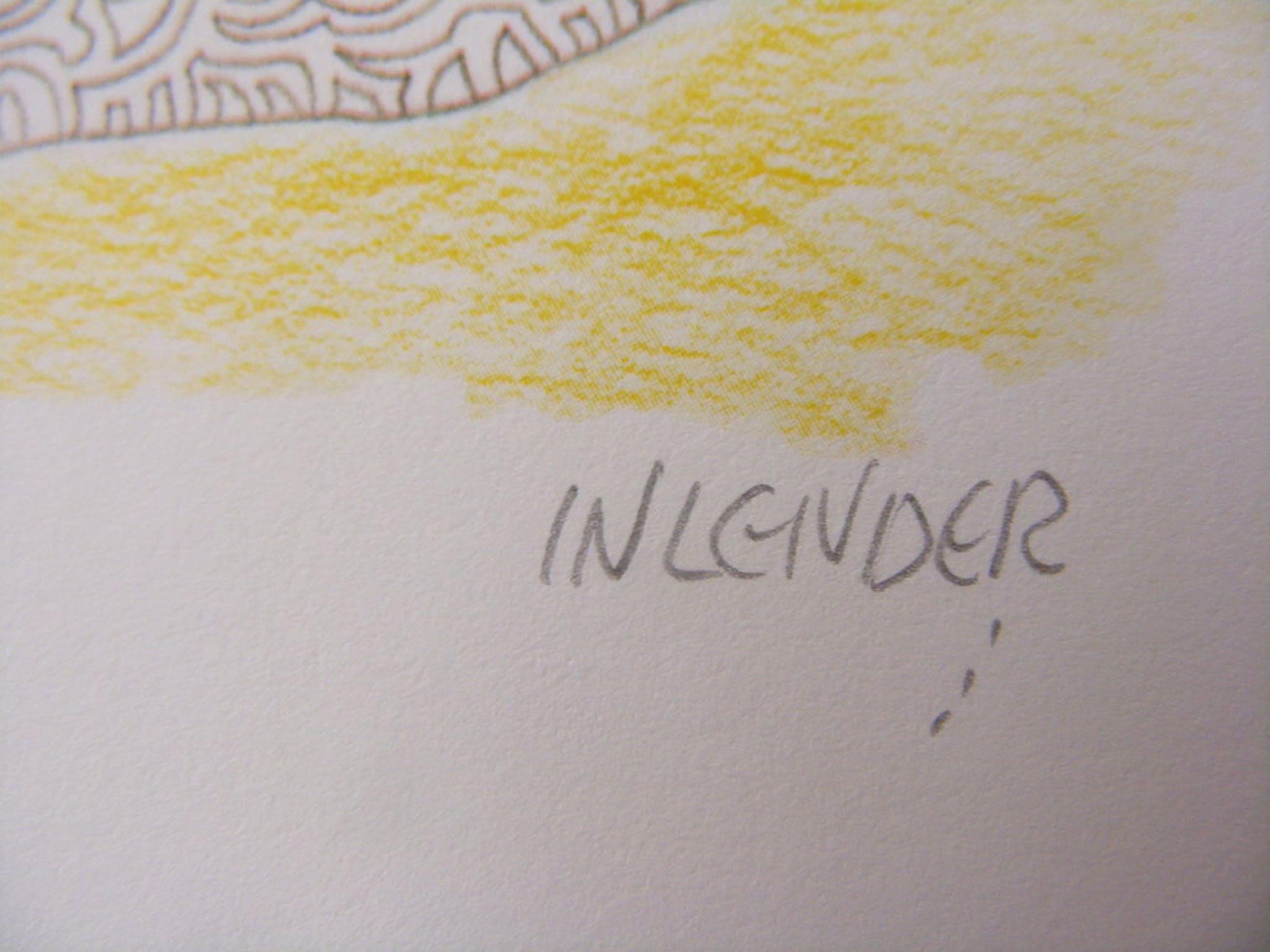 Av Inlender, twee originele grafieken, handgesigneerd! kopen? Bied vanaf 35!