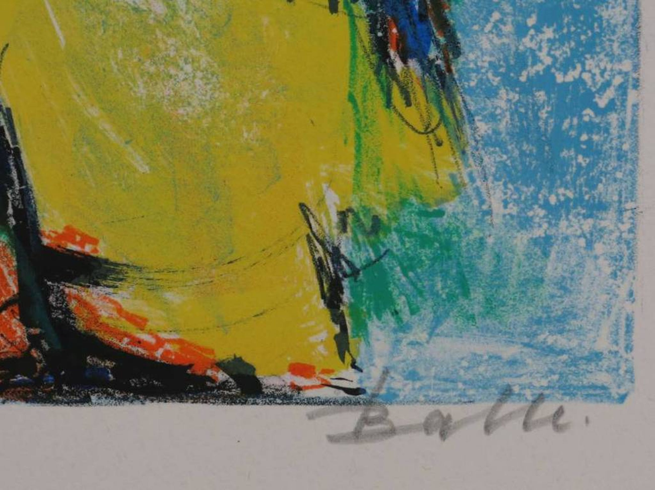 Morgens Balle: Kleurenlitho, Fantasiefiguren (CoBrA) kopen? Bied vanaf 70!