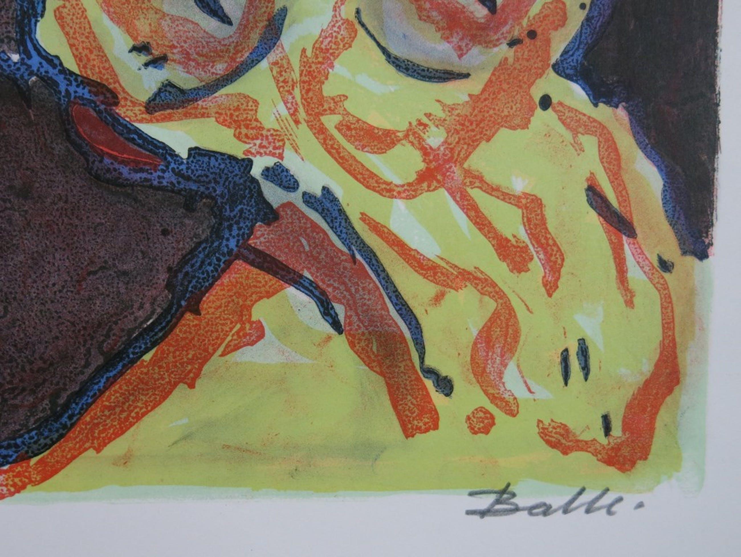 Mogens Balle: Kleurenlitho, Dromenland (CoBrA) kopen? Bied vanaf 1!