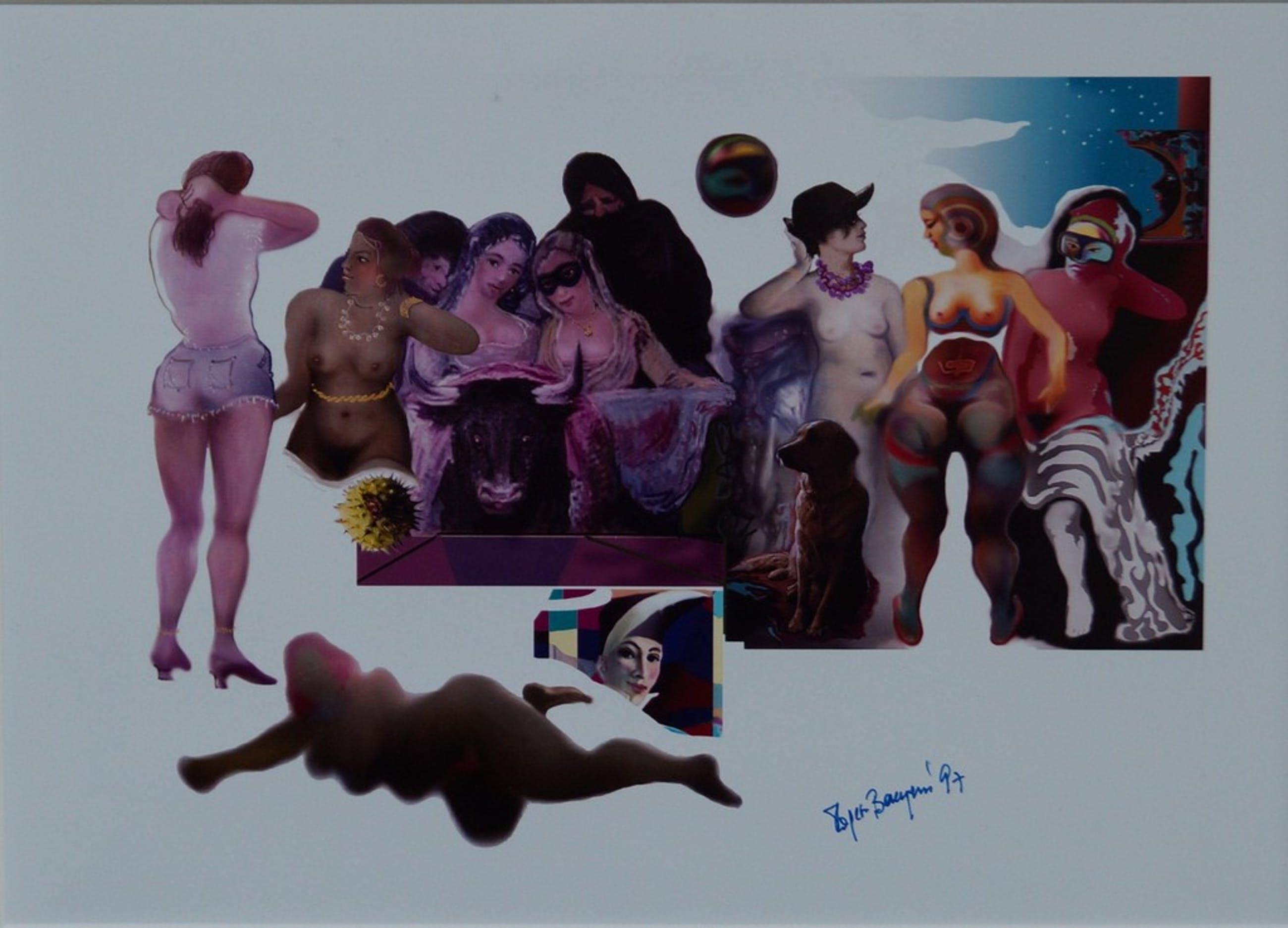 Onbekende kunstenaar - gesigneerde surrealistische foto kopen? Bied vanaf 15!