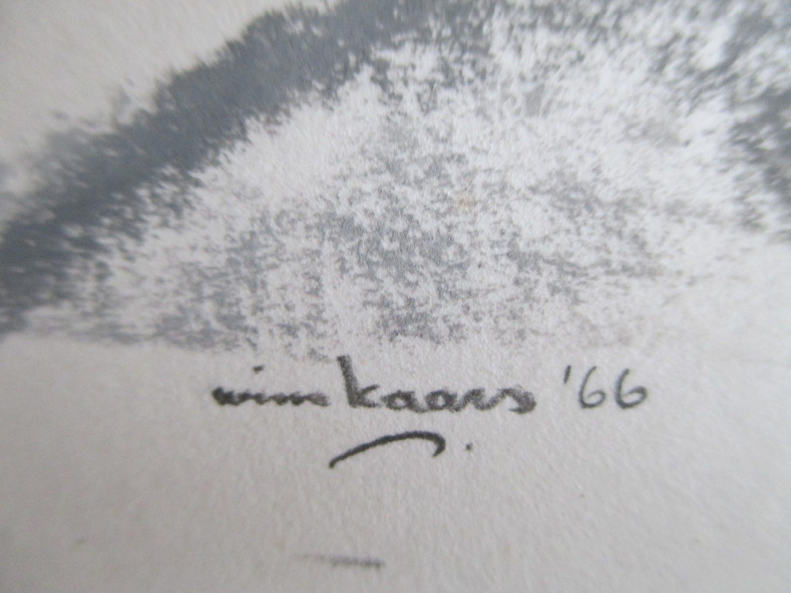 Wim Kaars, pasteltekening kopen? Bied vanaf 15!