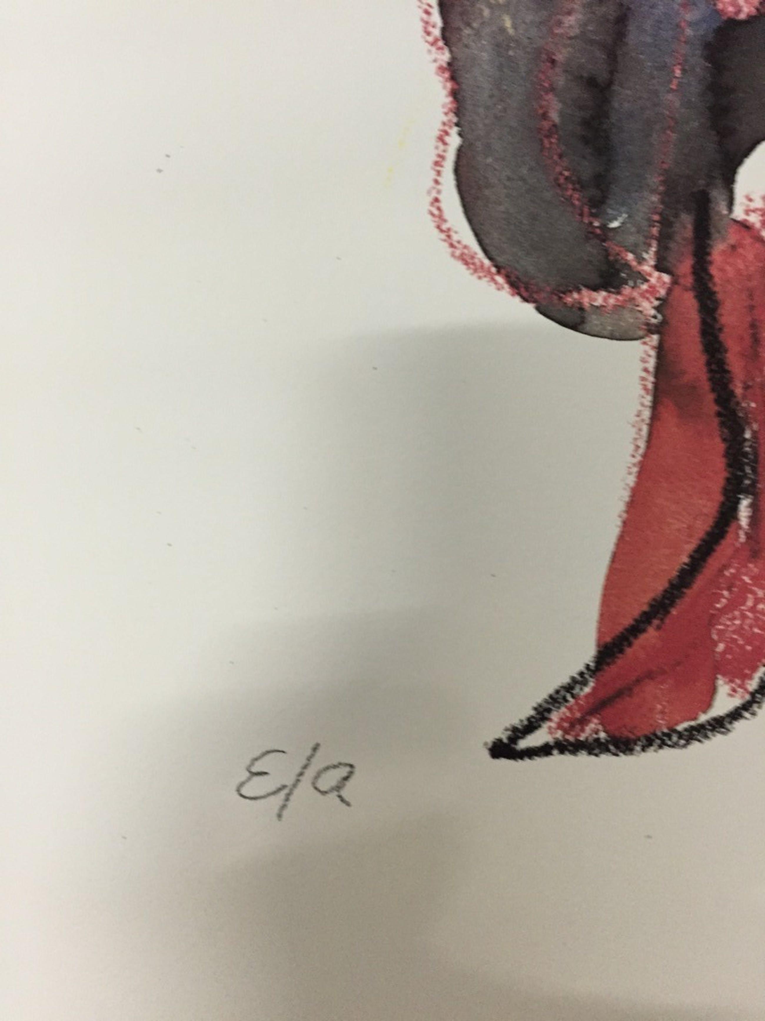 JAN SIERHUIS  Originele EA piezo/zeefdruk   Titel: Flamenco  2006 kopen? Bied vanaf 1!
