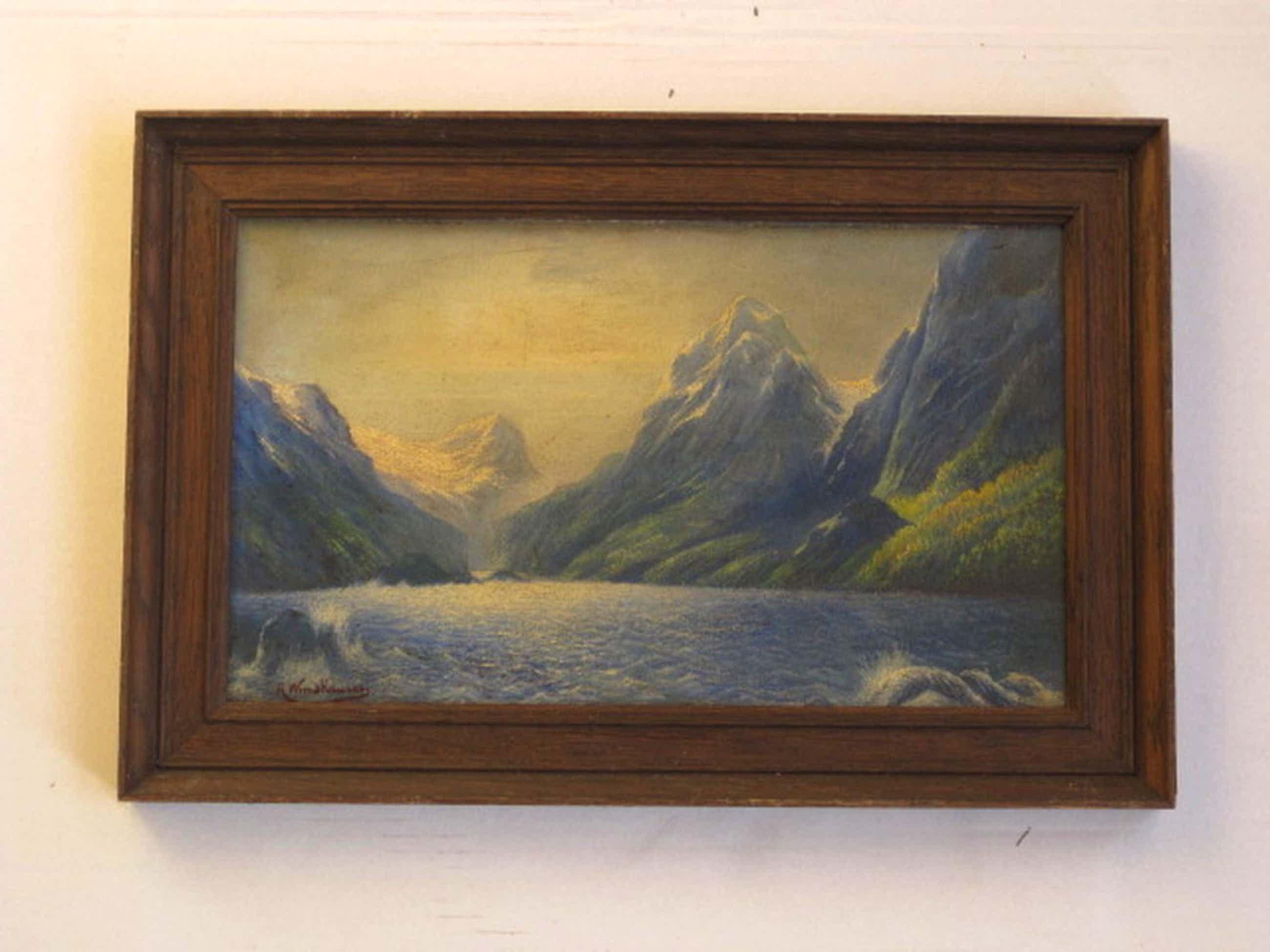 Zeer zeldzaam olieverf van schilder en verzetsstrijder Paul Windhausen 1903-1944 kopen? Bied vanaf 70!
