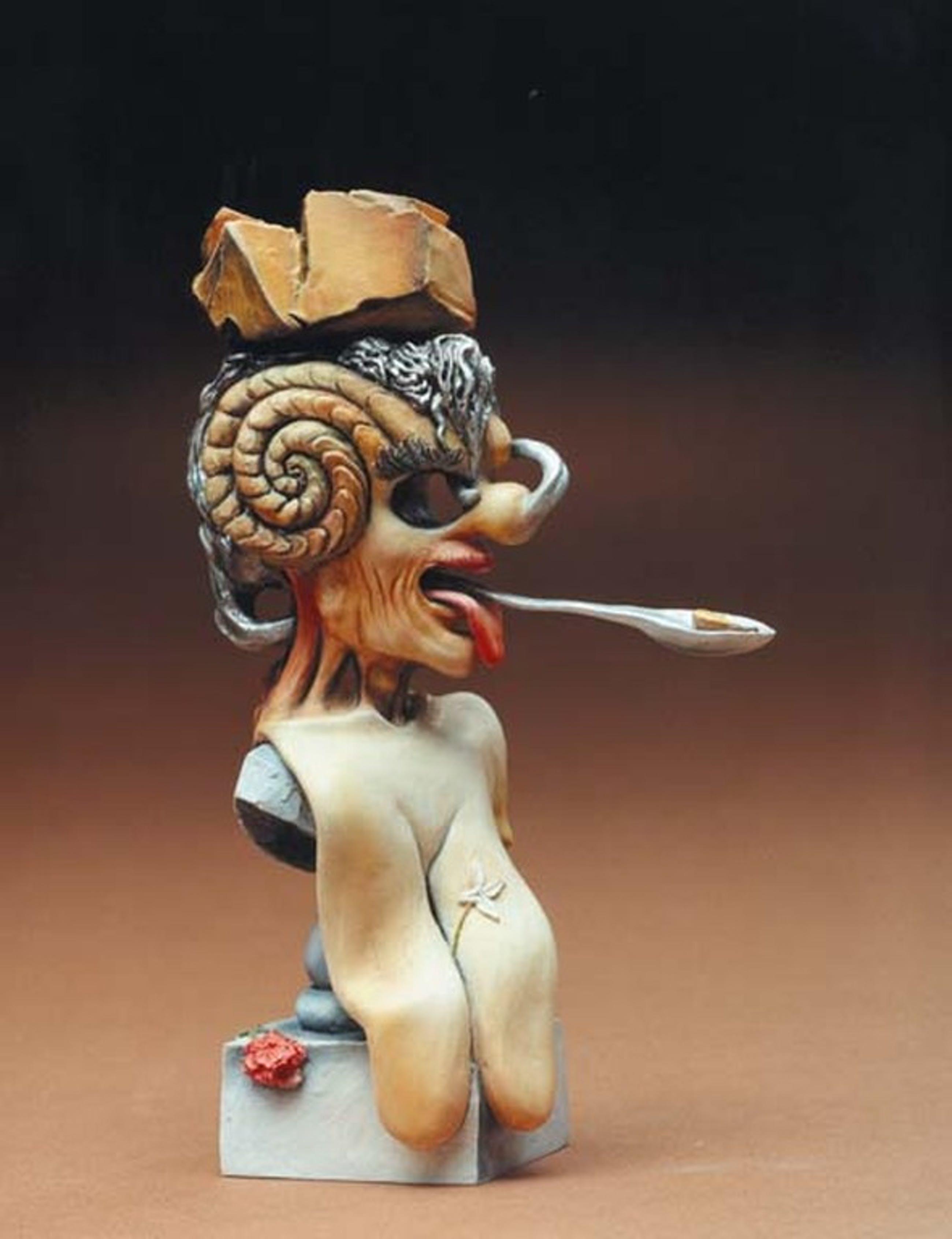 SALVADOR DALI, 3D-sculpture: Portret de Picasso (Portret van Picasso) kopen? Bied vanaf 29!
