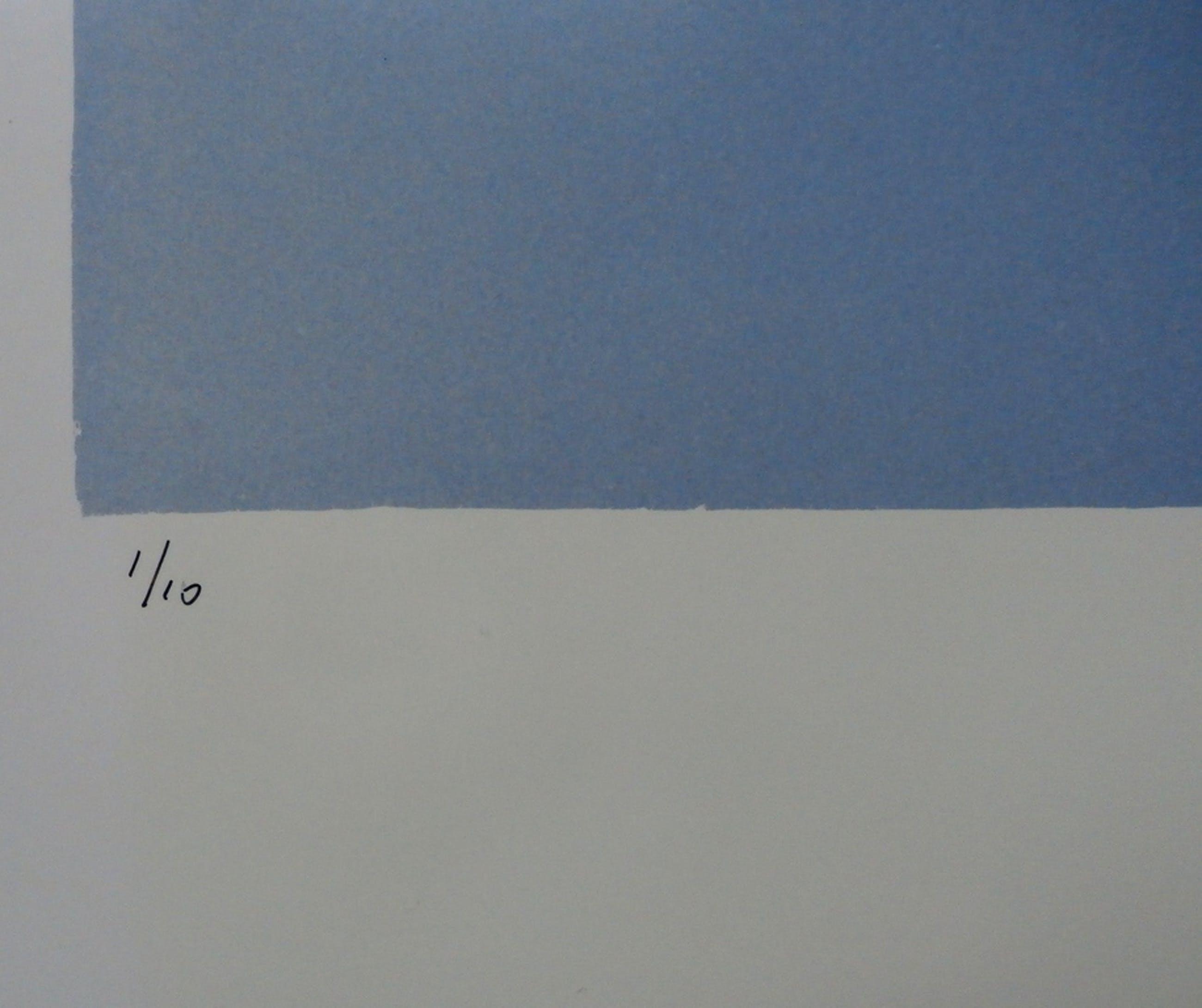 Jean Ruiter - foto: Geometrische compositie - 1985 kopen? Bied vanaf 60!