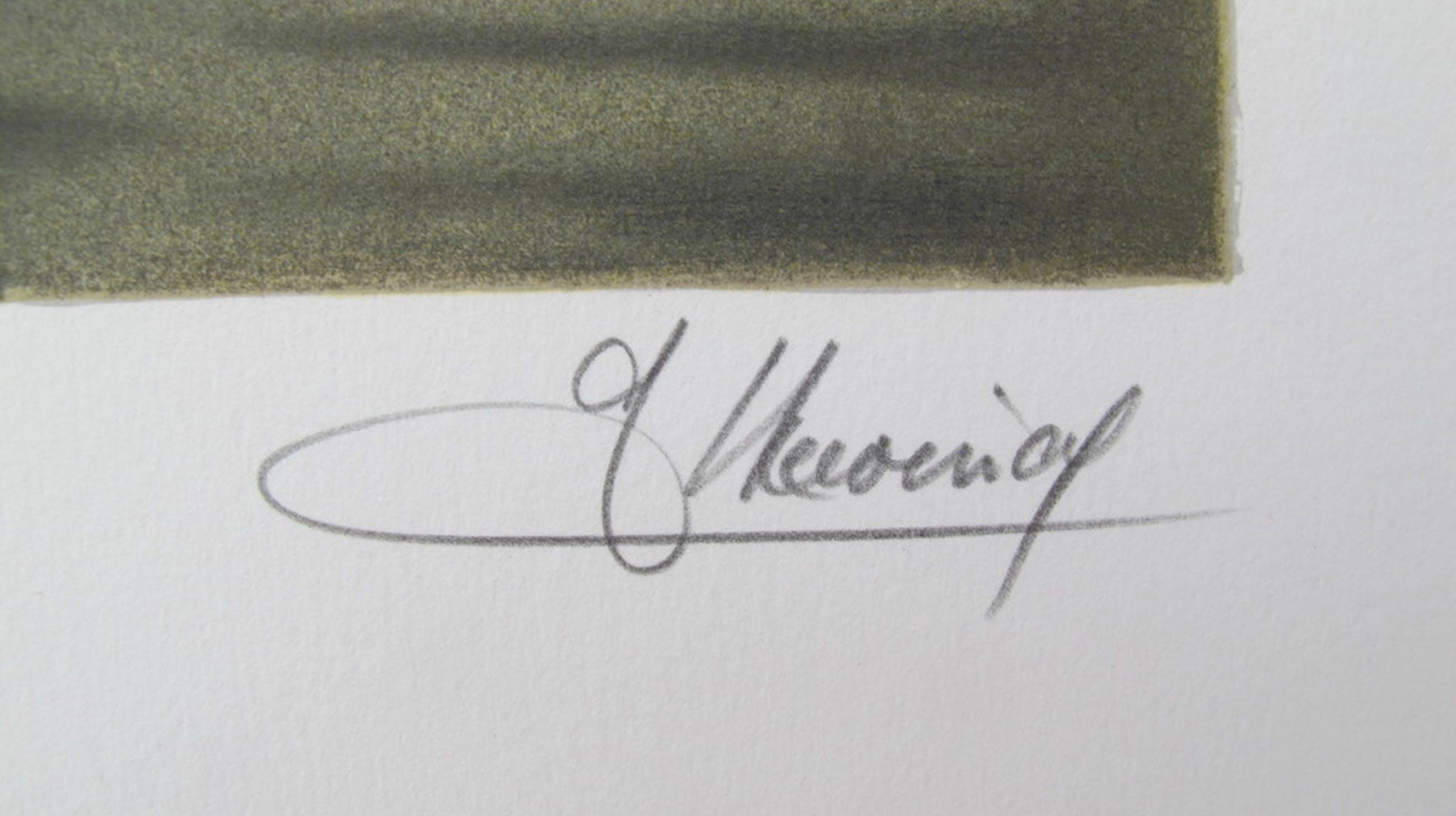 """Au bord du quai""- kleurenlithografie, 175 ex. kopen? Bied vanaf 49!"
