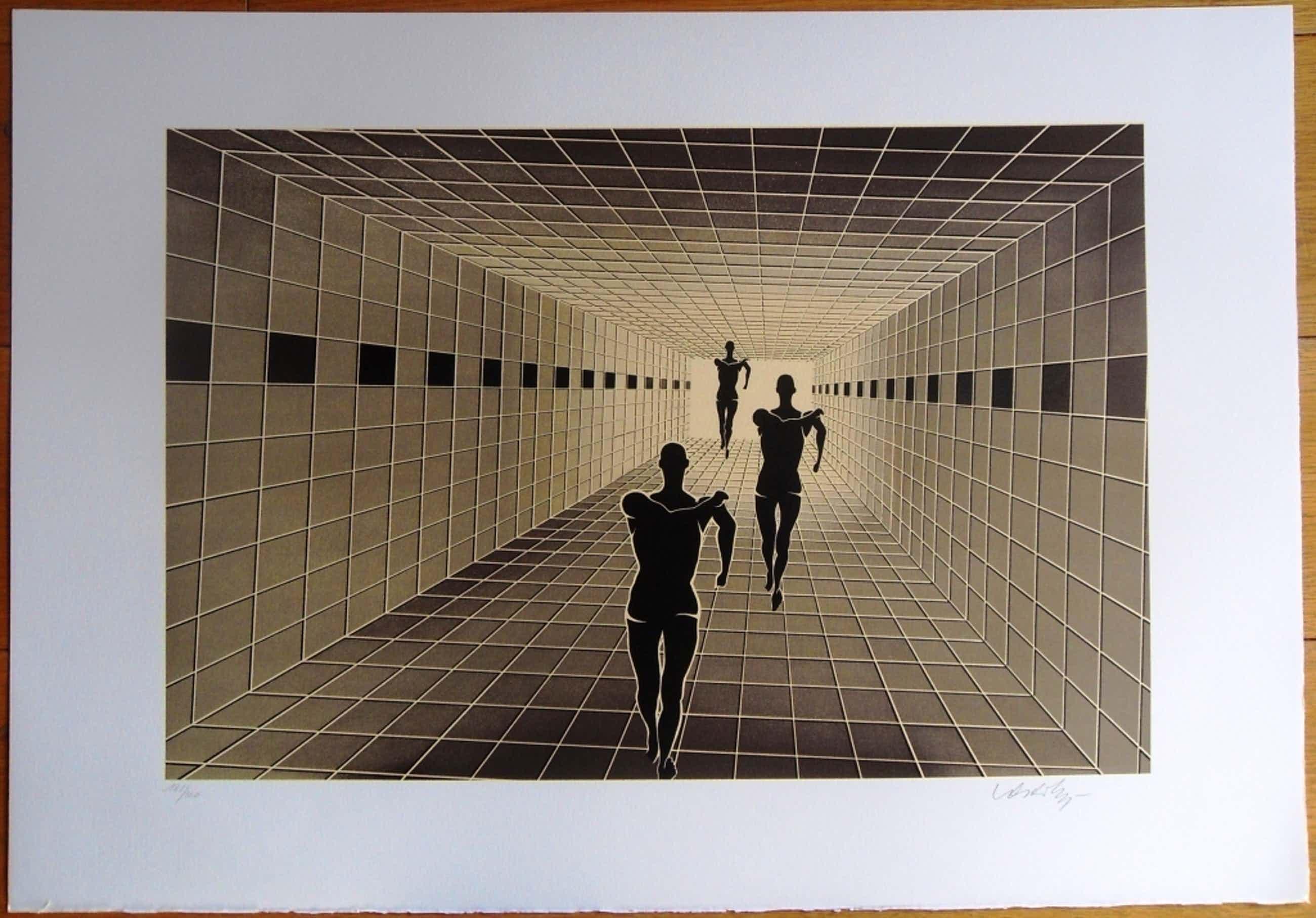 Vasarely: Etude de perspective kopen? Bied vanaf 325!