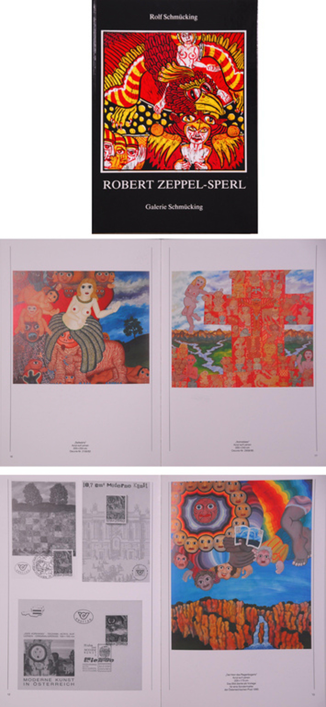 Robert Zeppel-Sperl - Zeefdruk + boek kopen? Bied vanaf 1!