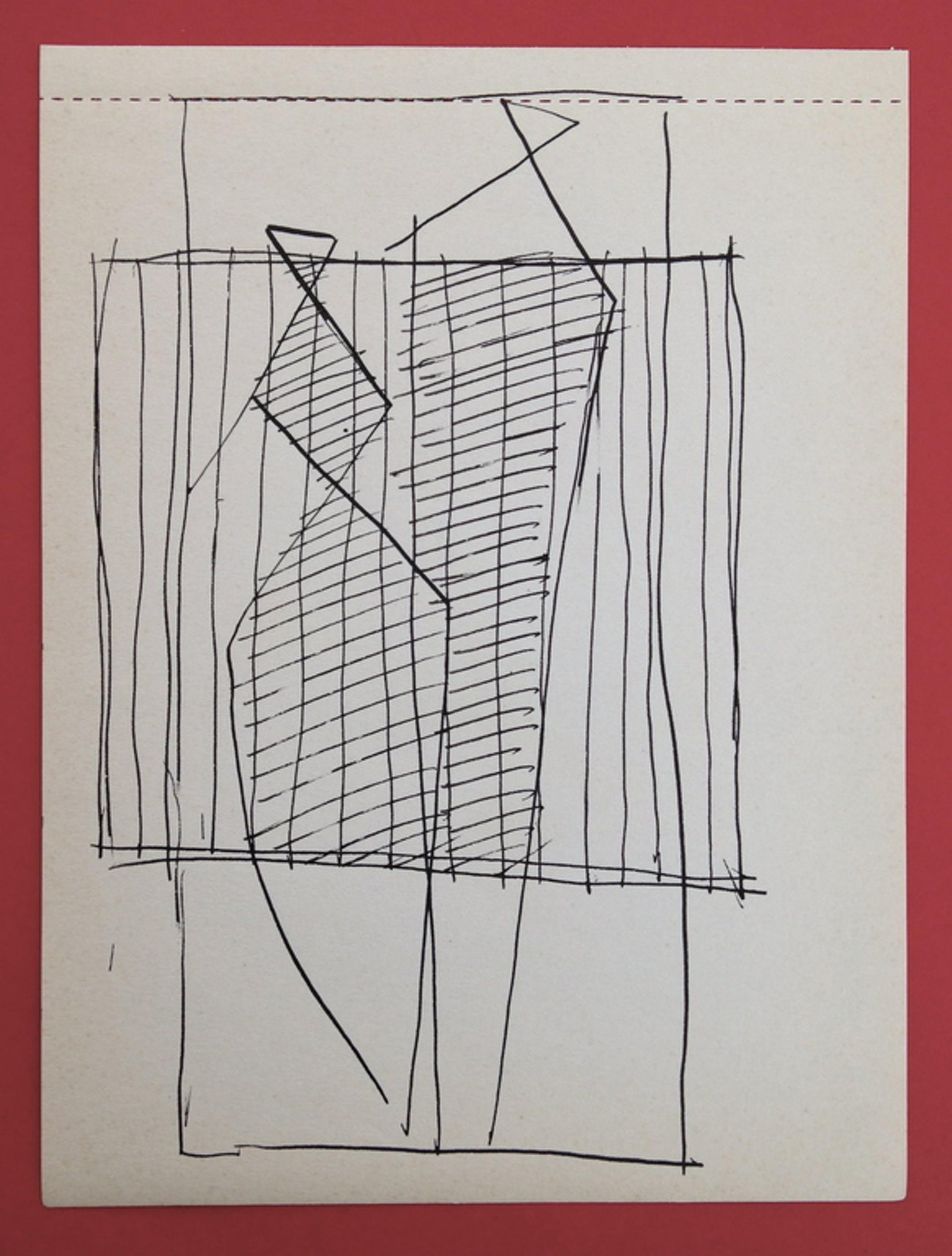 Siep van den Berg, Originele tekening uit 1956, '2 Figuren' kopen? Bied vanaf 1!