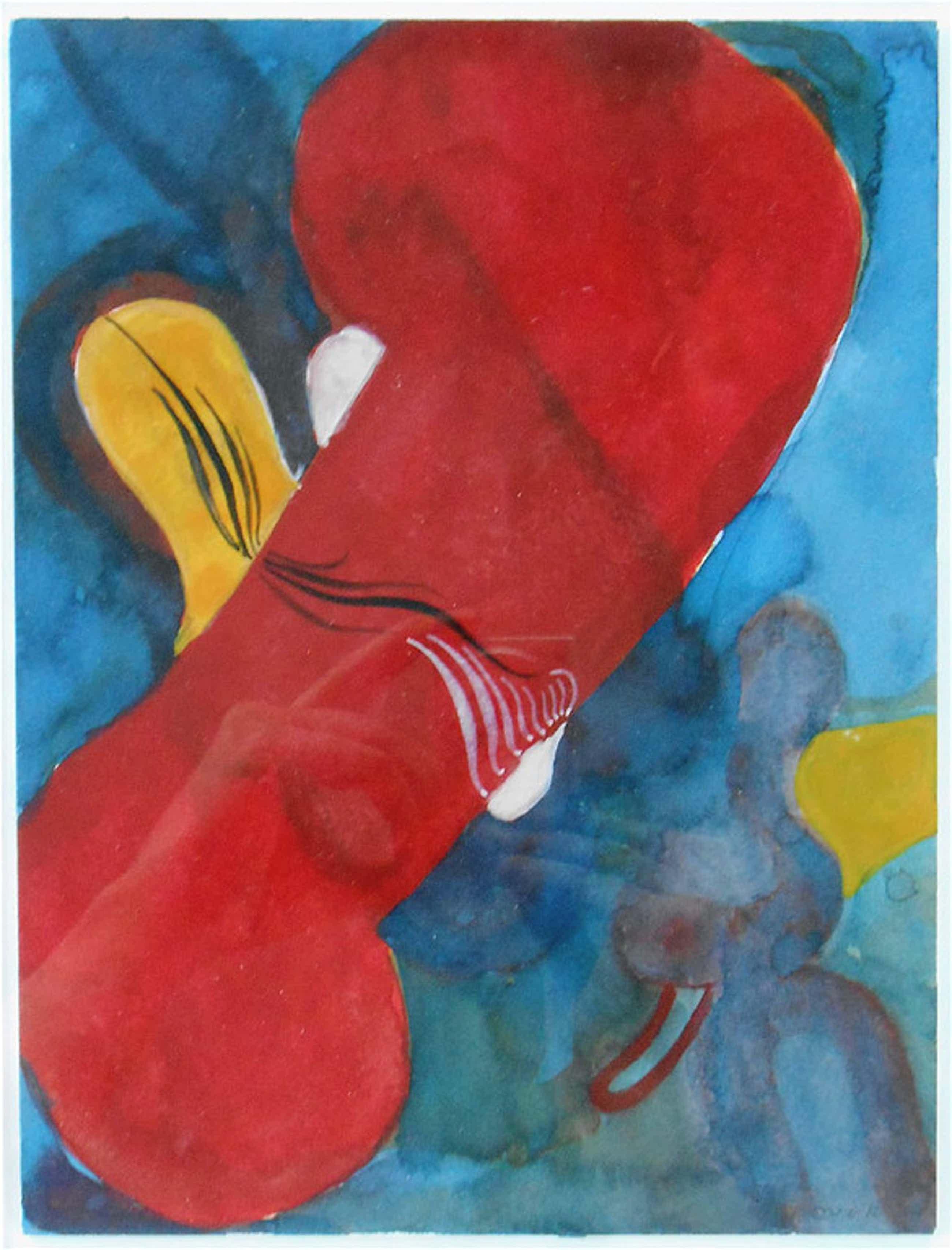 Floor van Keulen, aquarel, 1997 ( Ingelijst) kopen? Bied vanaf 60!