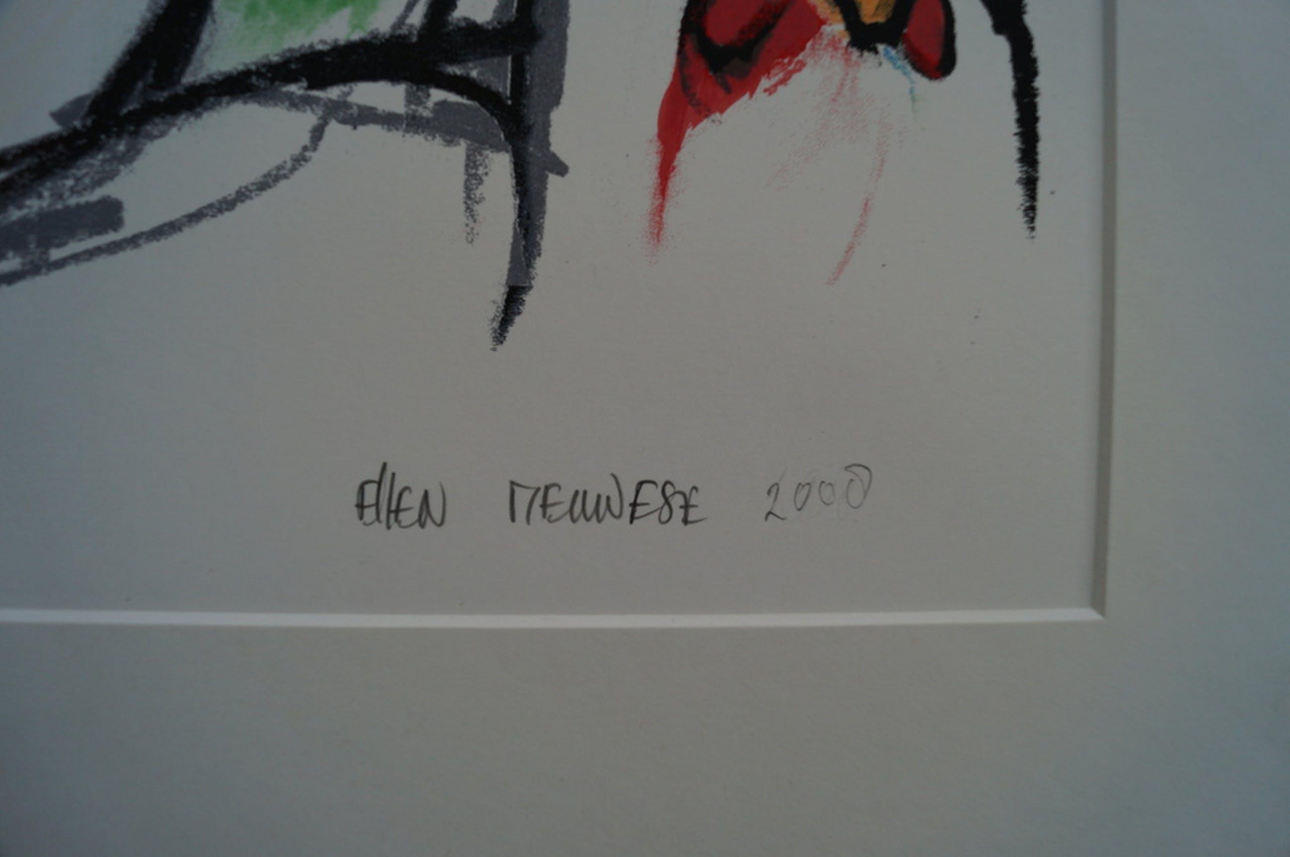 Ellen Meuwese - gesigneerde zeefdruk - 2008 kopen? Bied vanaf 40!