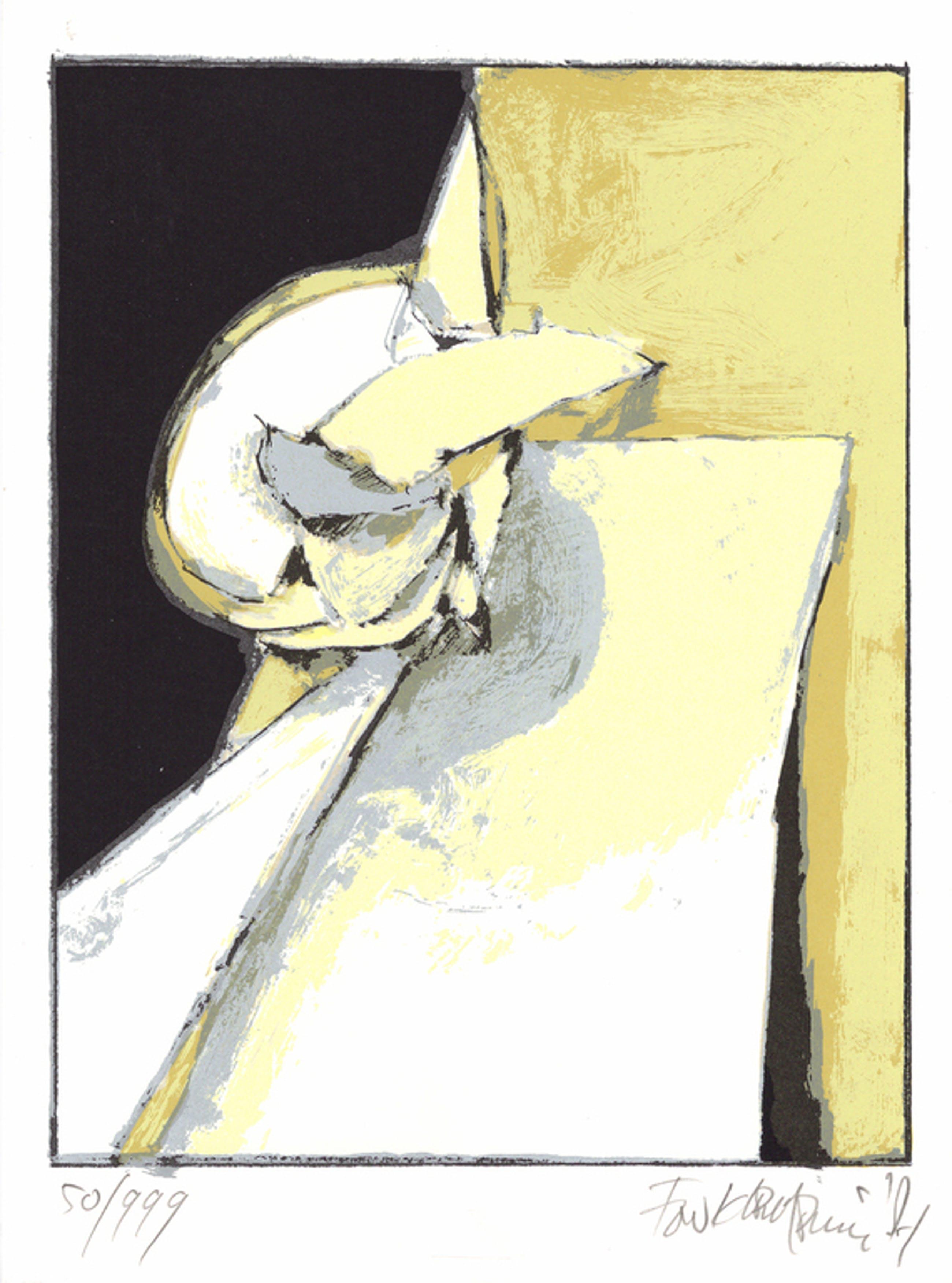 Fon Klement - Zonder titel - Gesigneerde zeefdruk - 1987 kopen? Bied vanaf 25!