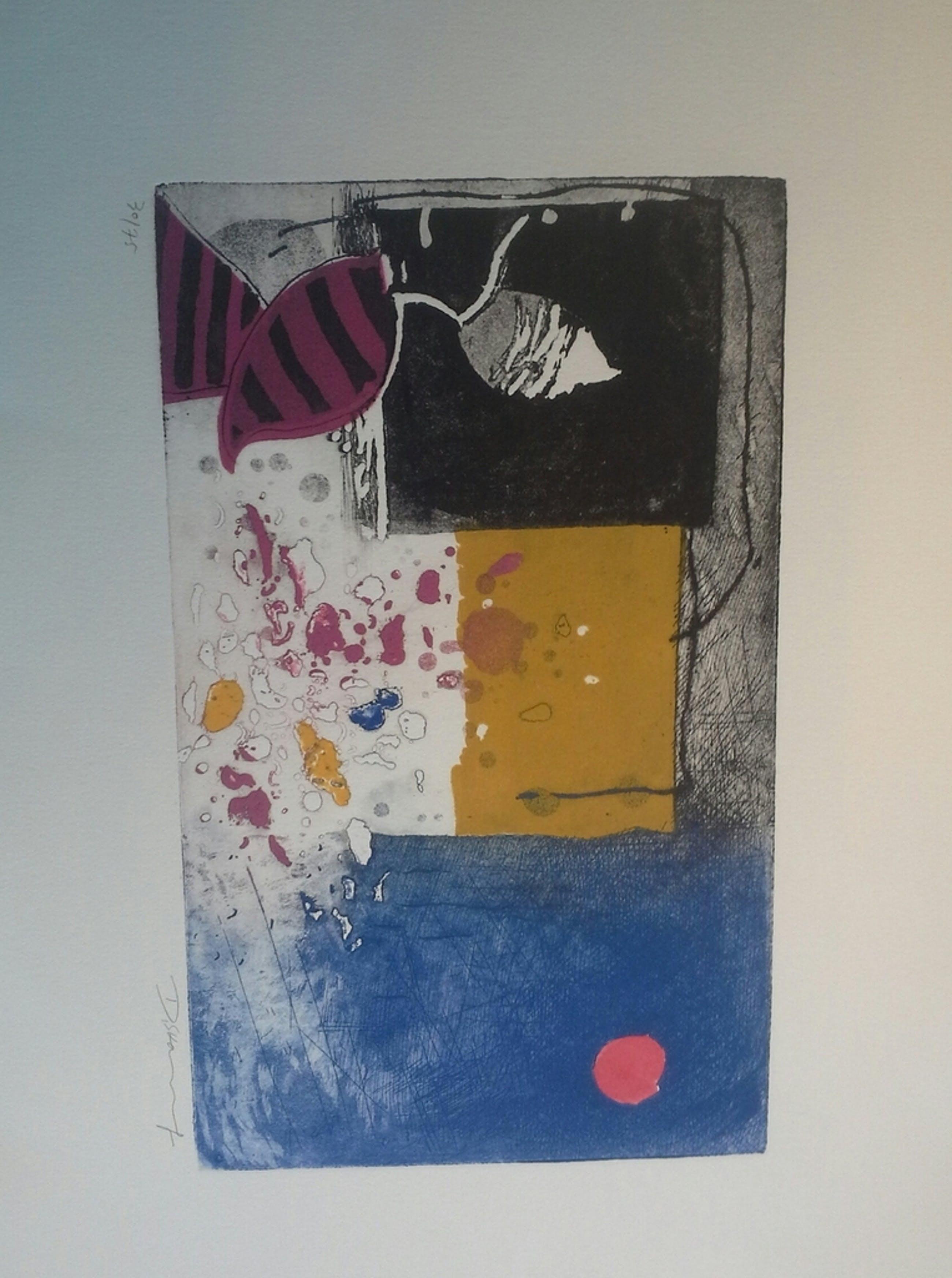 Mooie moderne kleurets van een zuid amerikaanse kunstenaar.  kopen? Bied vanaf 1!