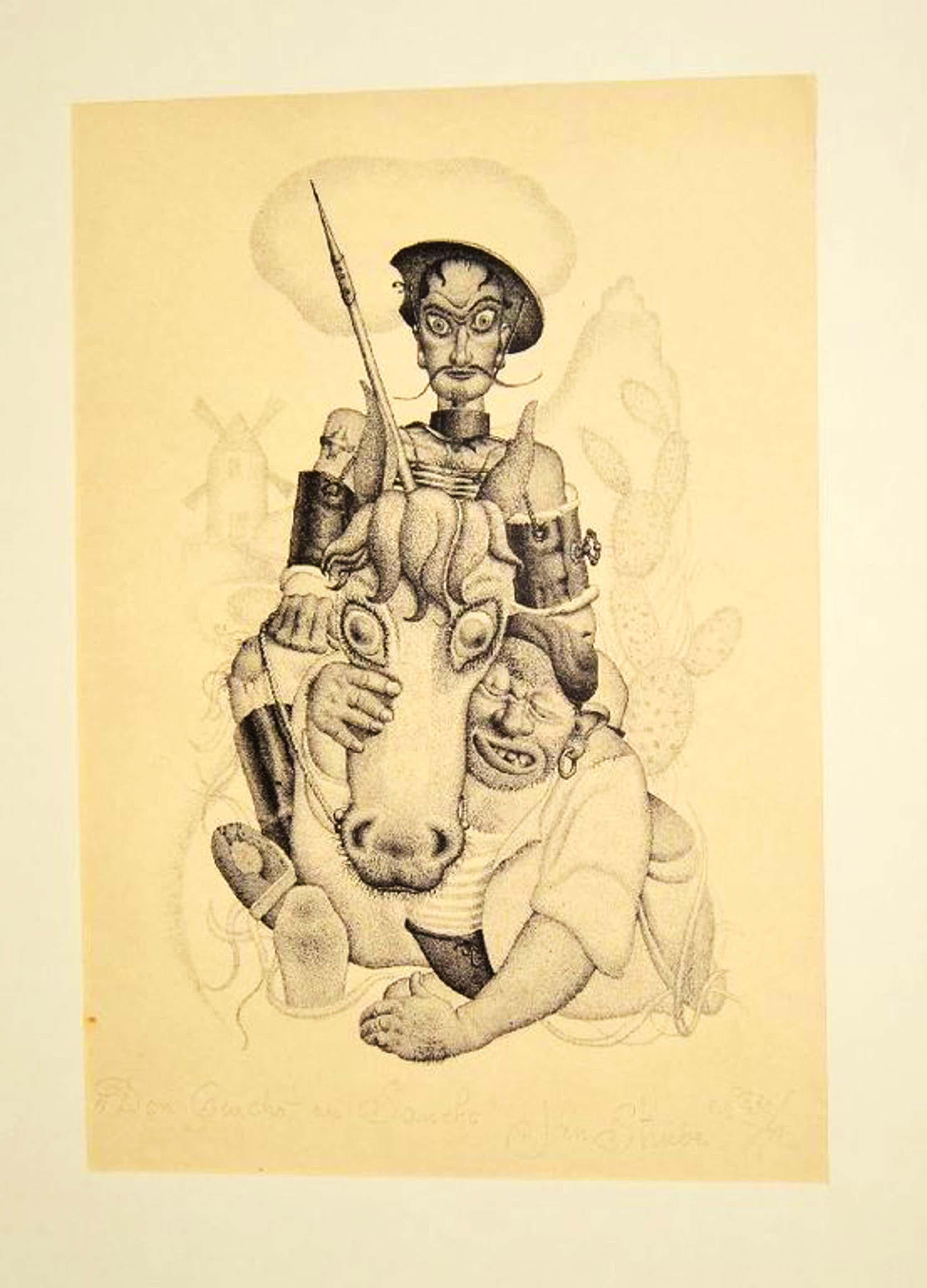 Jan Strube: Lino - Don Quichotte et Sancho No. 39 kopen? Bied vanaf 130!