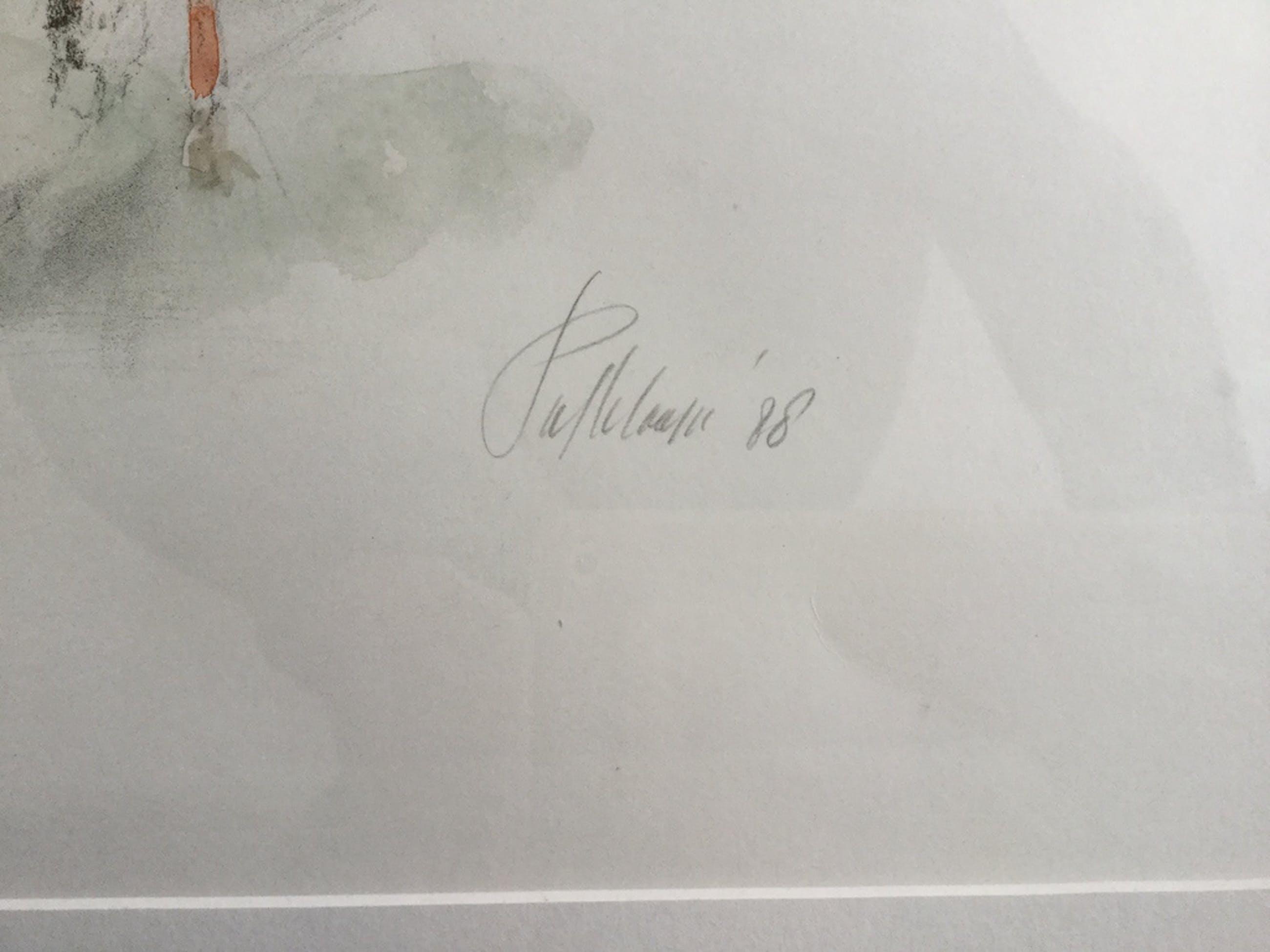 Piet Klaasse: Kleurlitho, Polo II kopen? Bied vanaf 1!