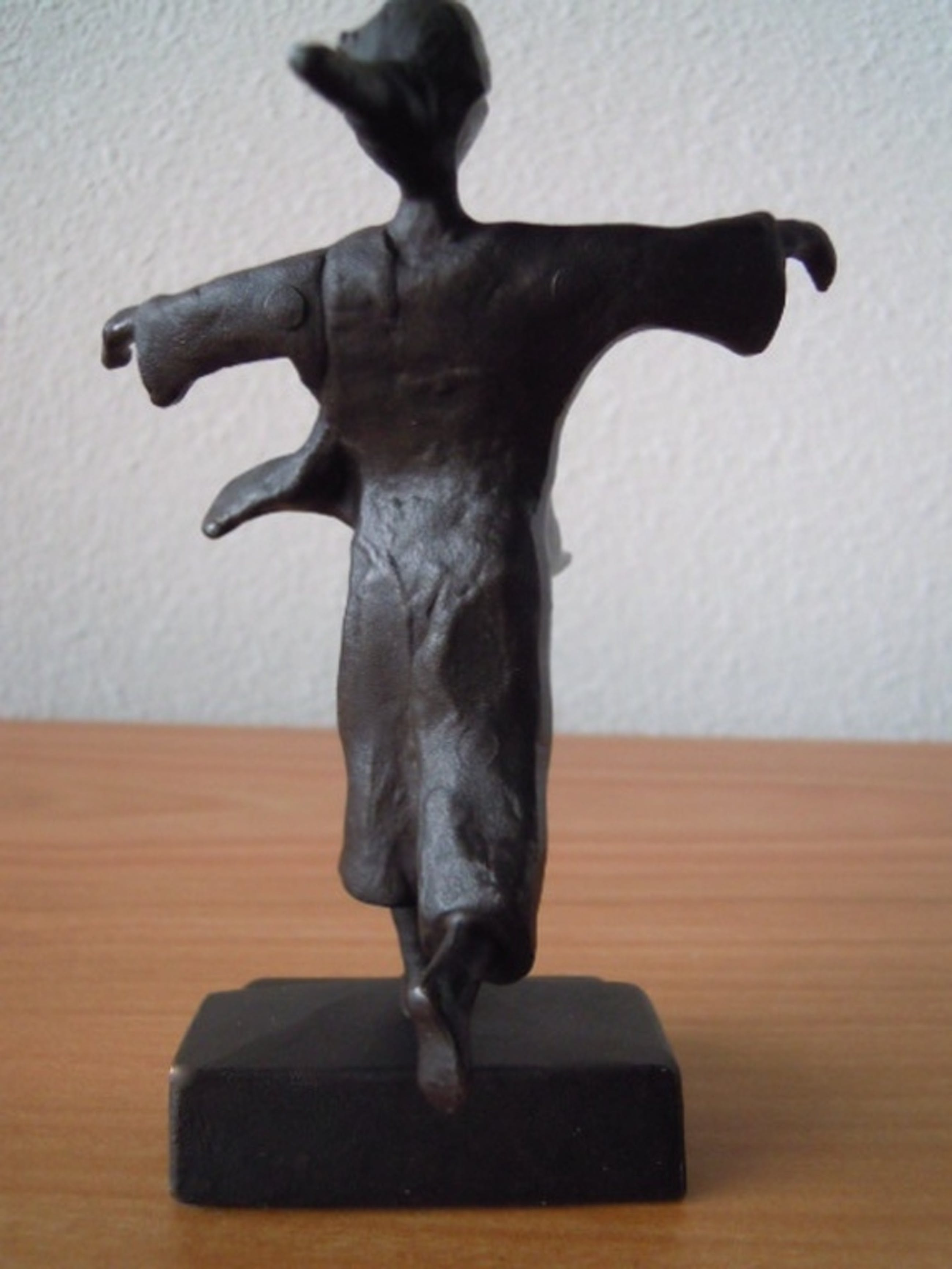 Prachtig bronzen beeld 14 cm hoog- kunstenaar is niet bekend   kopen? Bied vanaf 35!