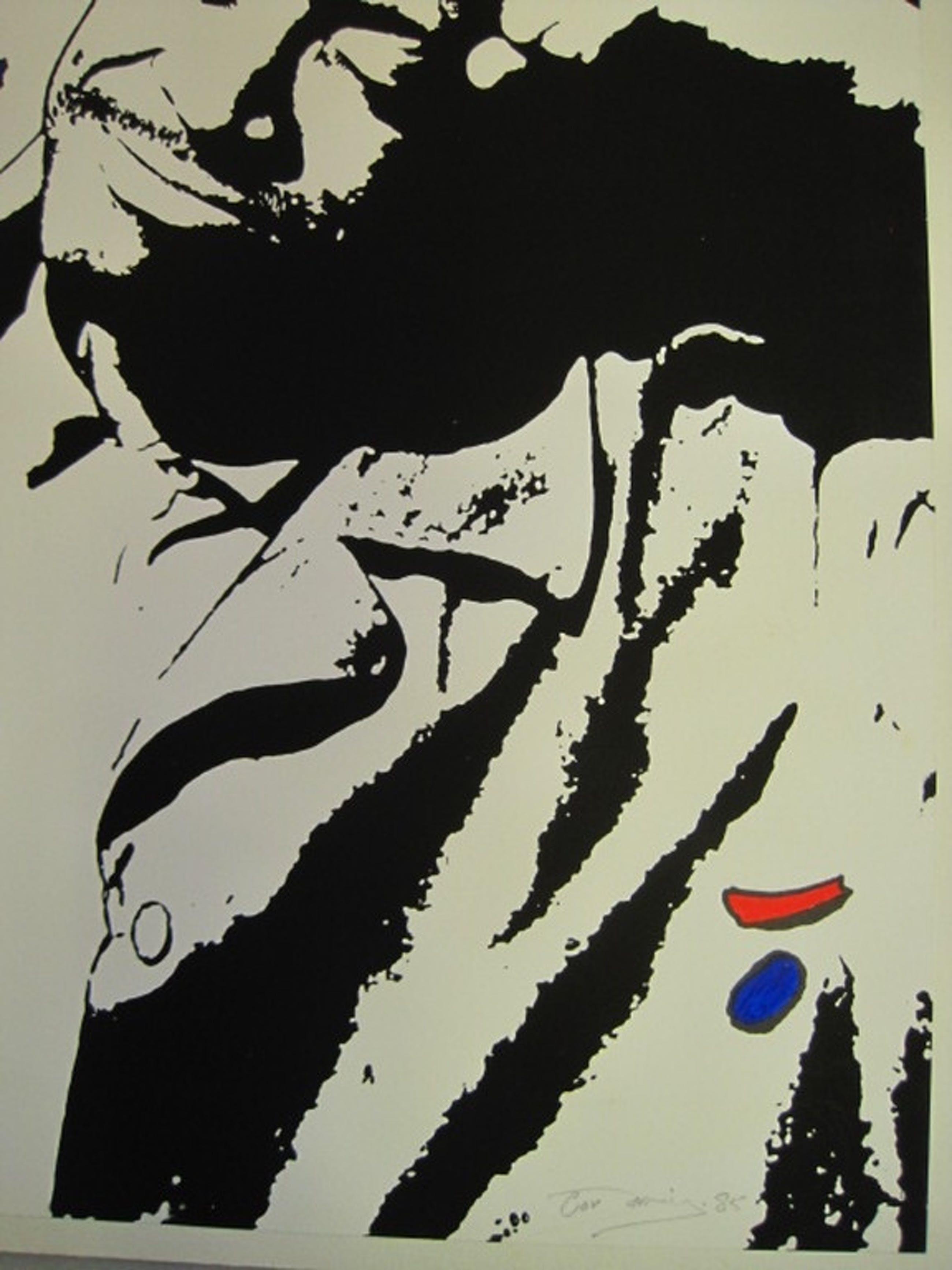 """Cor Jaring (1936-2013) Amsterdam """"Relax"""" gem.techniek gesigneerd 1985 kopen? Bied vanaf 1!"""
