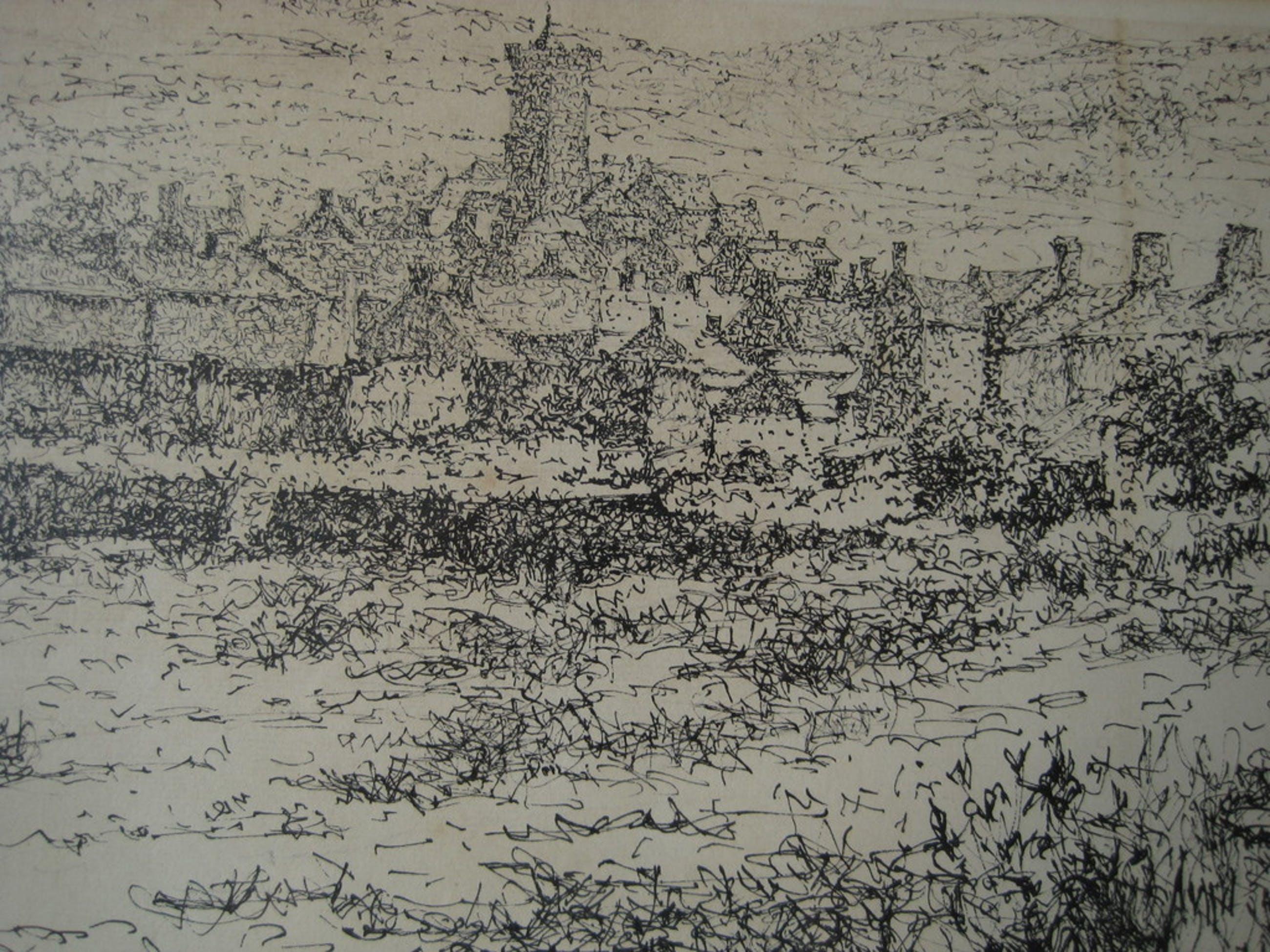 Willem Minderman 1910-1985 oostind inkt tekening  kopen? Bied vanaf 25!