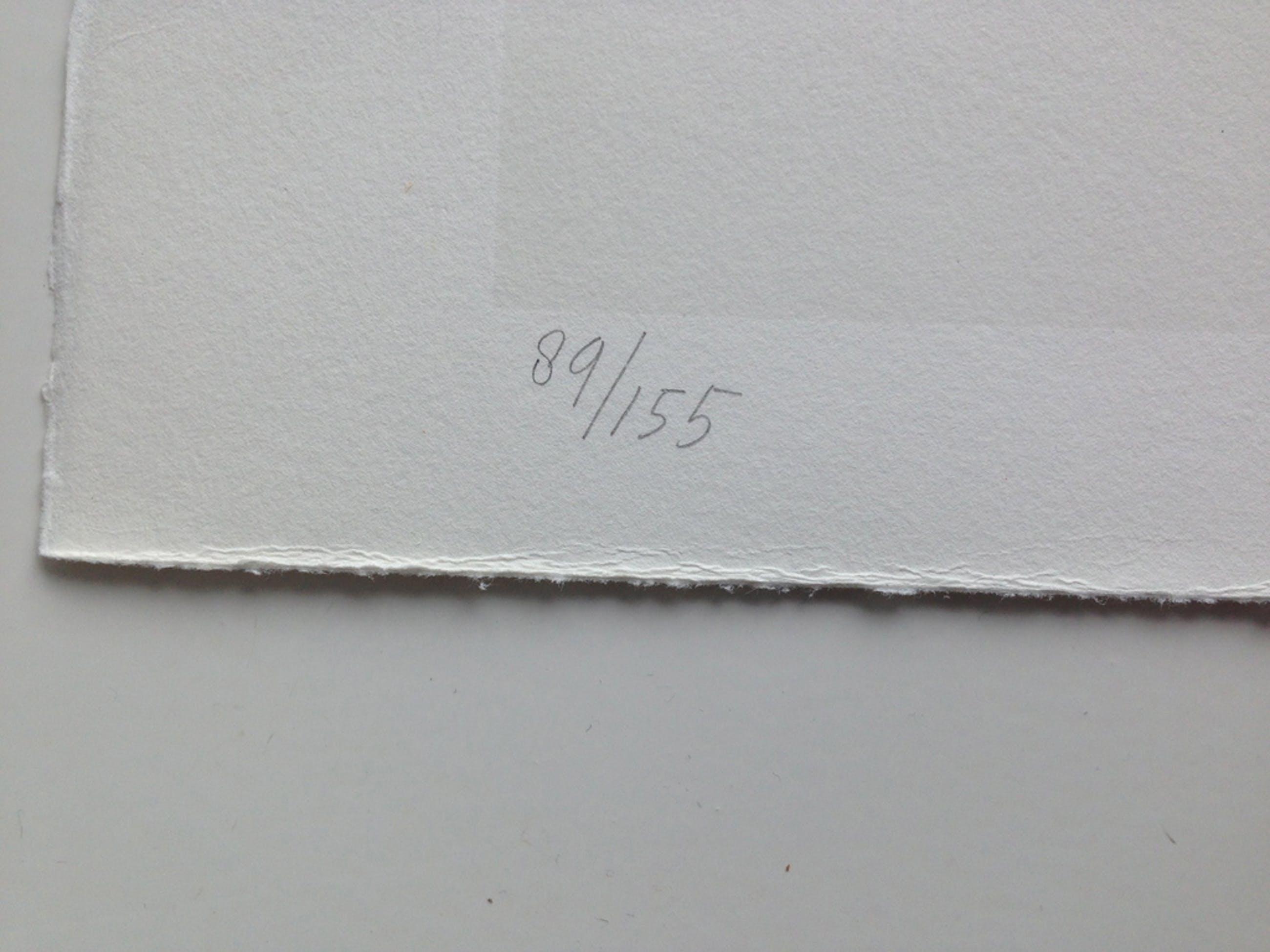 Klaas Gubbels, 1981, gesigneerd, zeefdruk, tafel & stoelen kopen? Bied vanaf 95!