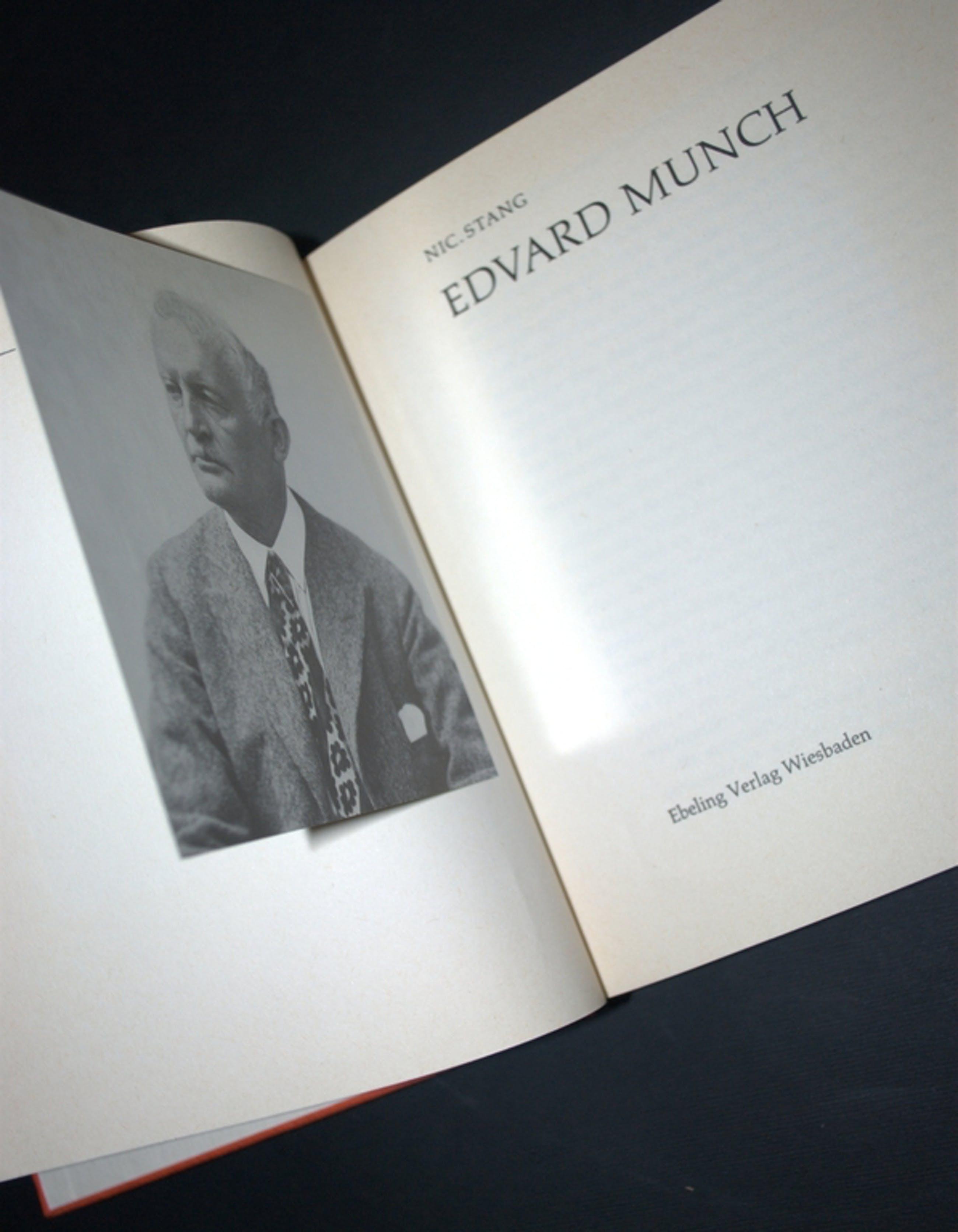 EDVARD MUNCH--MONOGRAFIE--260 PAG! >>LAATSTE VEILING !! kopen? Bied vanaf 6!