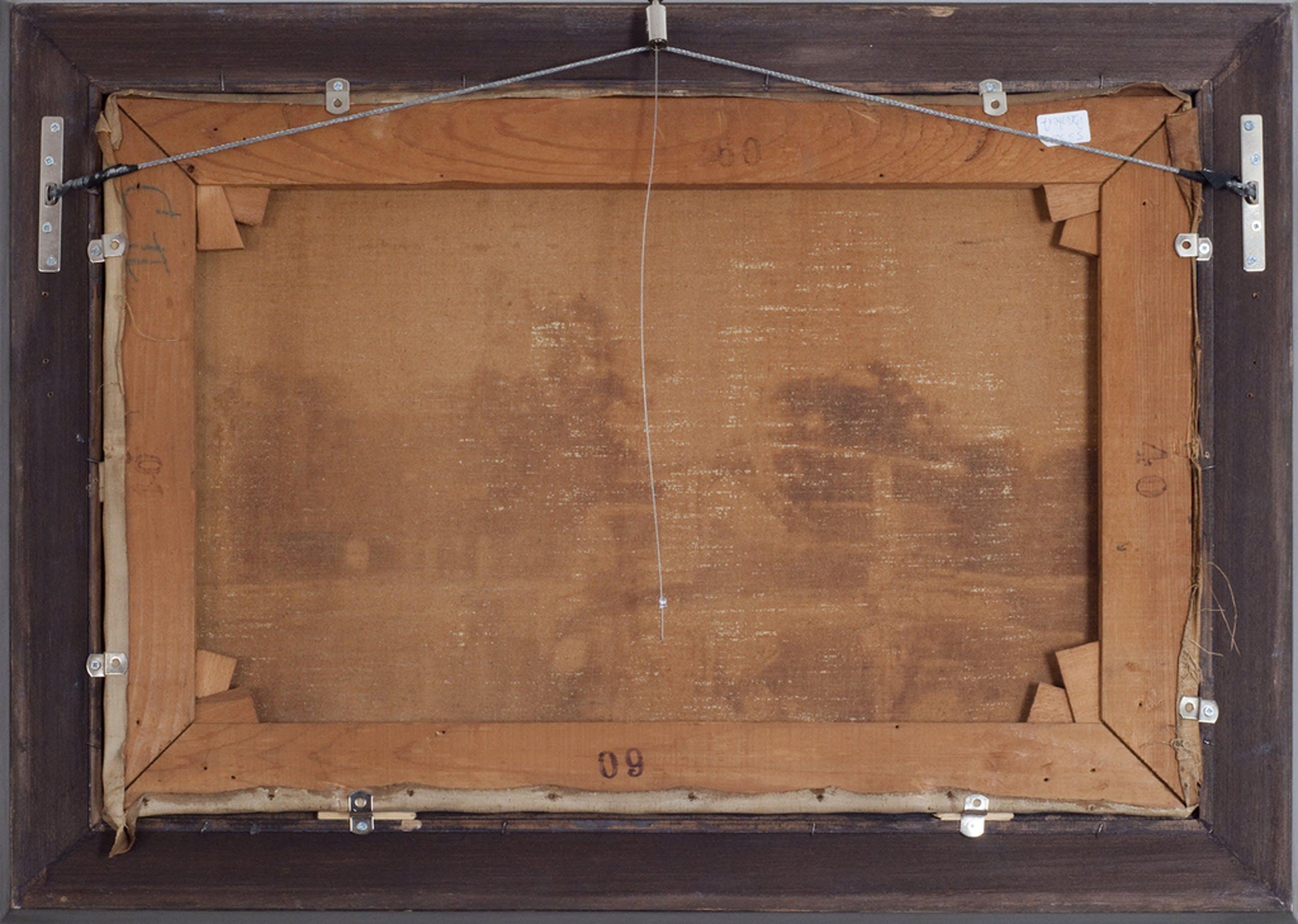 Nicolaas Bastert (1854 - 1939), Brug over de vecht, olieverf op doek kopen? Bied vanaf 4200!