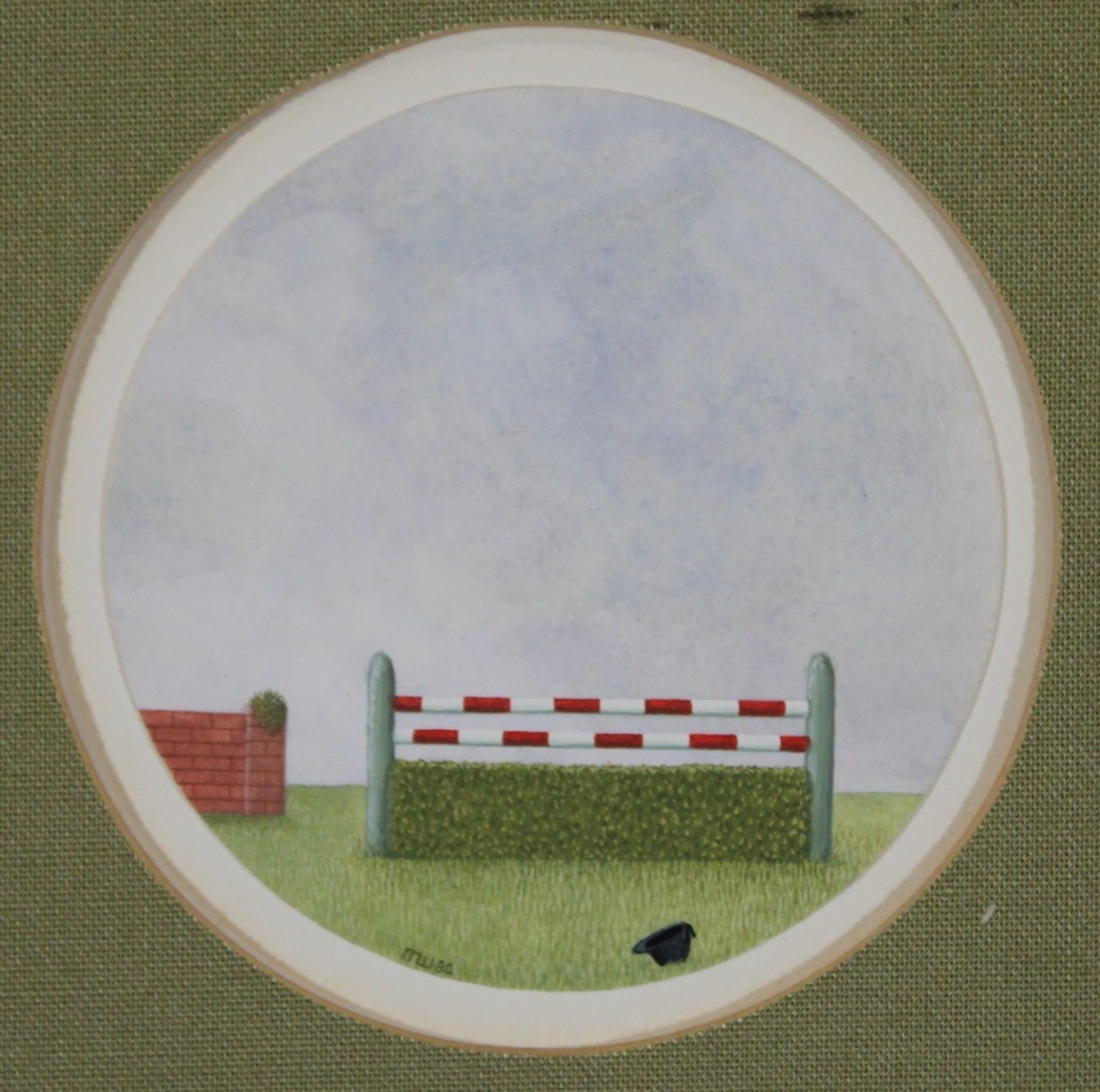 Ron Watts, meester op de vierkante millimeter, gouache op papier, 1980 Utrecht kopen? Bied vanaf 10!