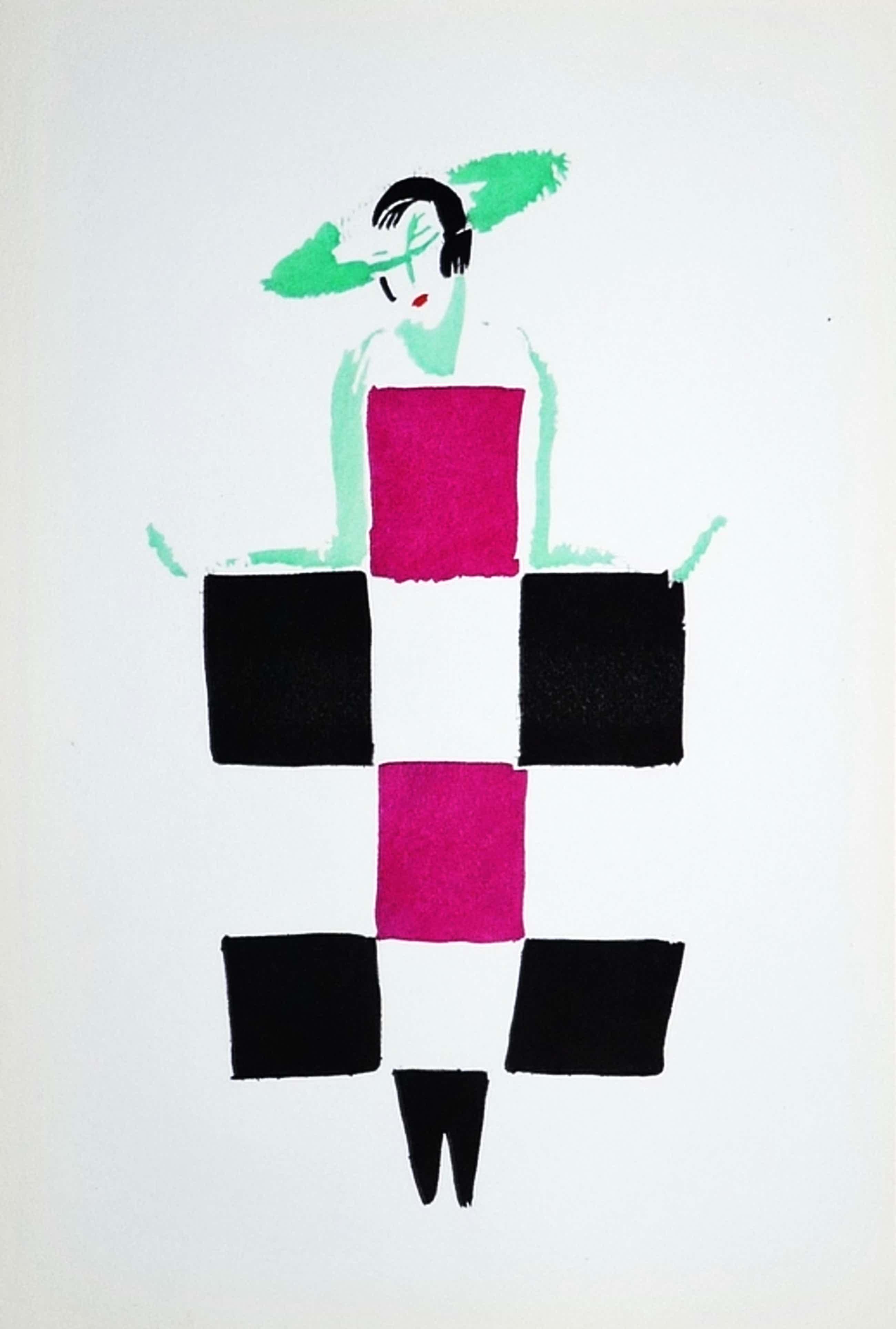 Sonia Delaunay, Pochoir, Uit Tableaux vivants kopen? Bied vanaf 90!