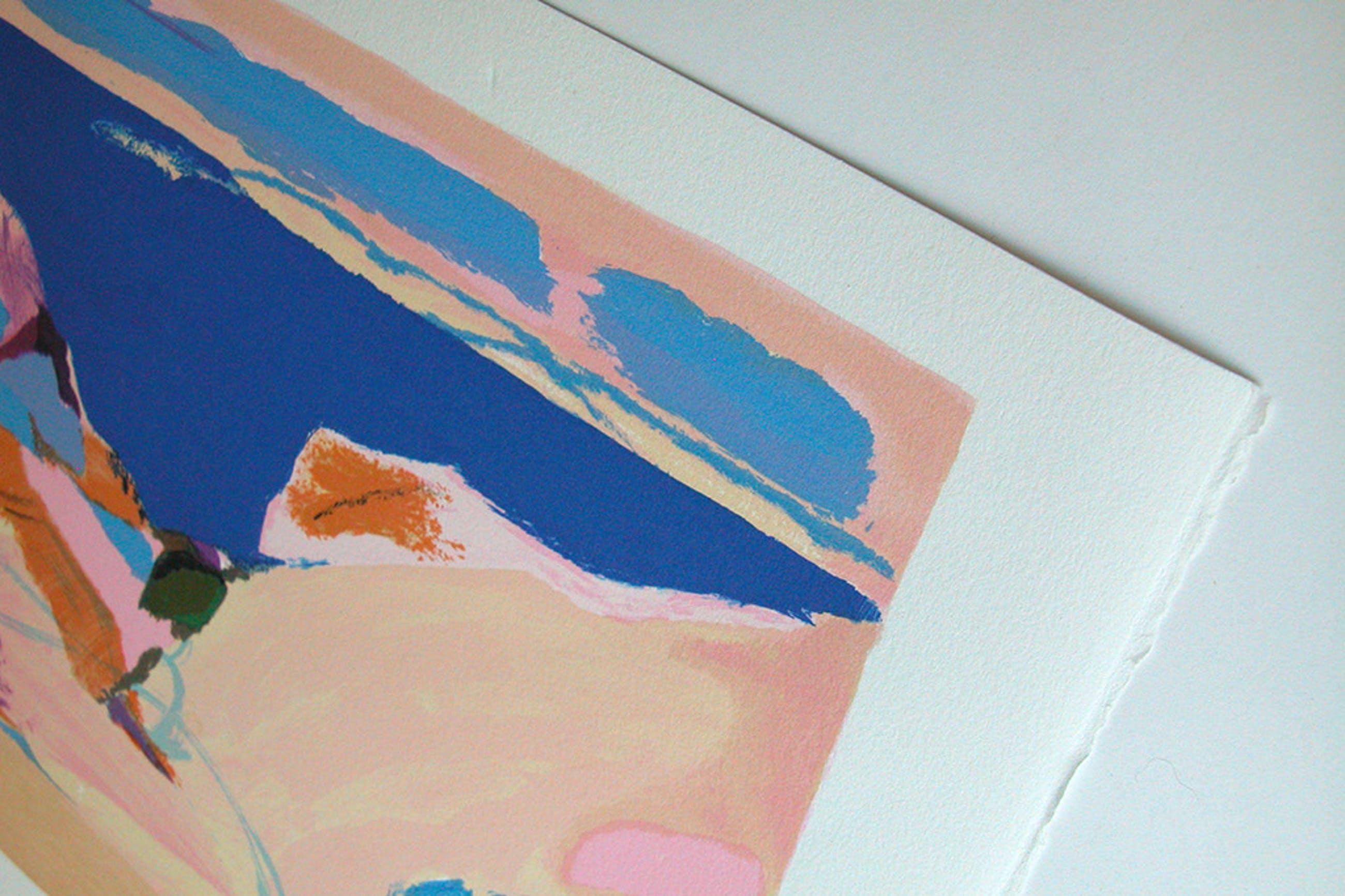 GABRIEL GODARD, 'Narbonne', originele litho, handgesigneerd  kopen? Bied vanaf 45!